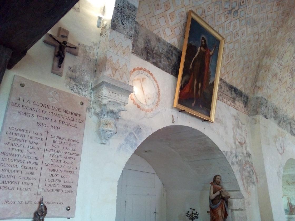 Église Saint-Jean-Baptiste de Chassignelles