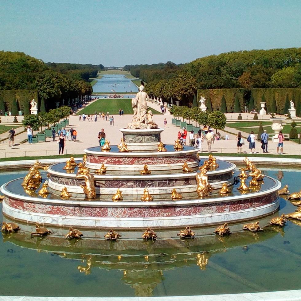 Château de Versailles, les jardins