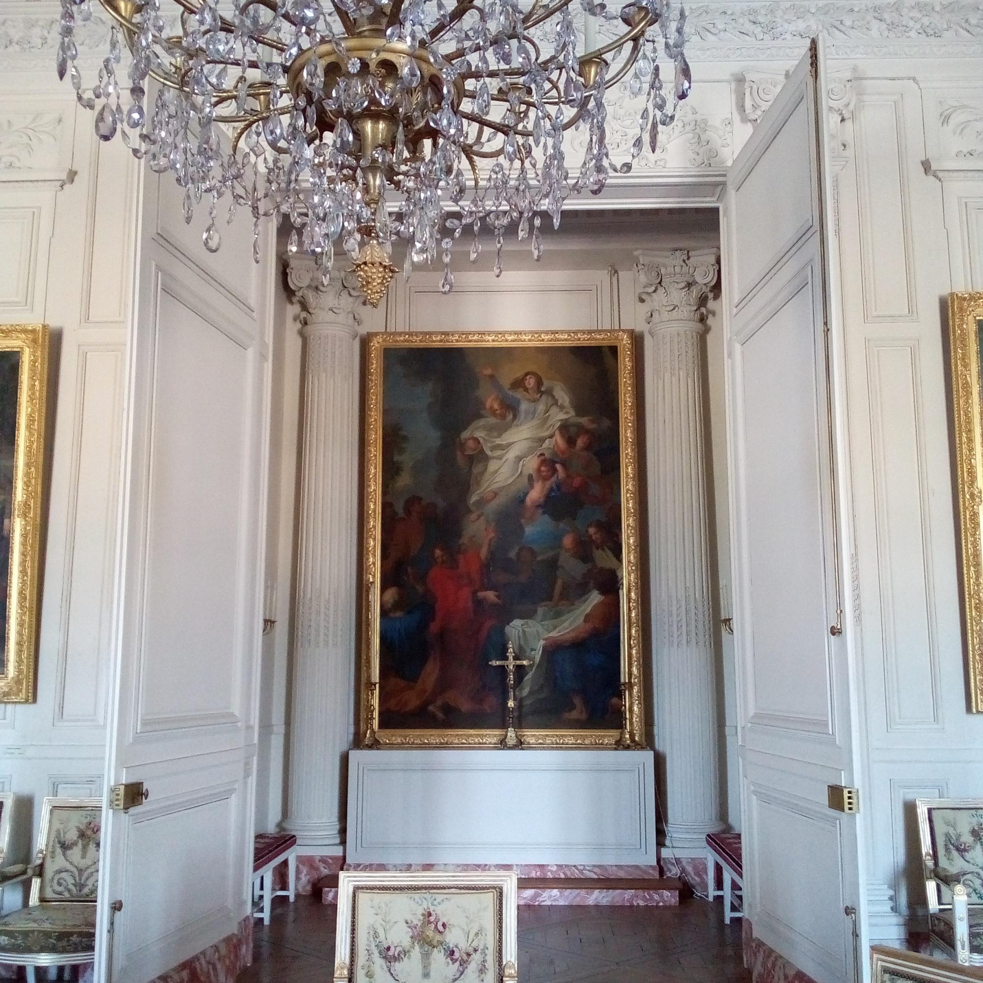 Le Grand Trianon, le Salon de la Chapelle