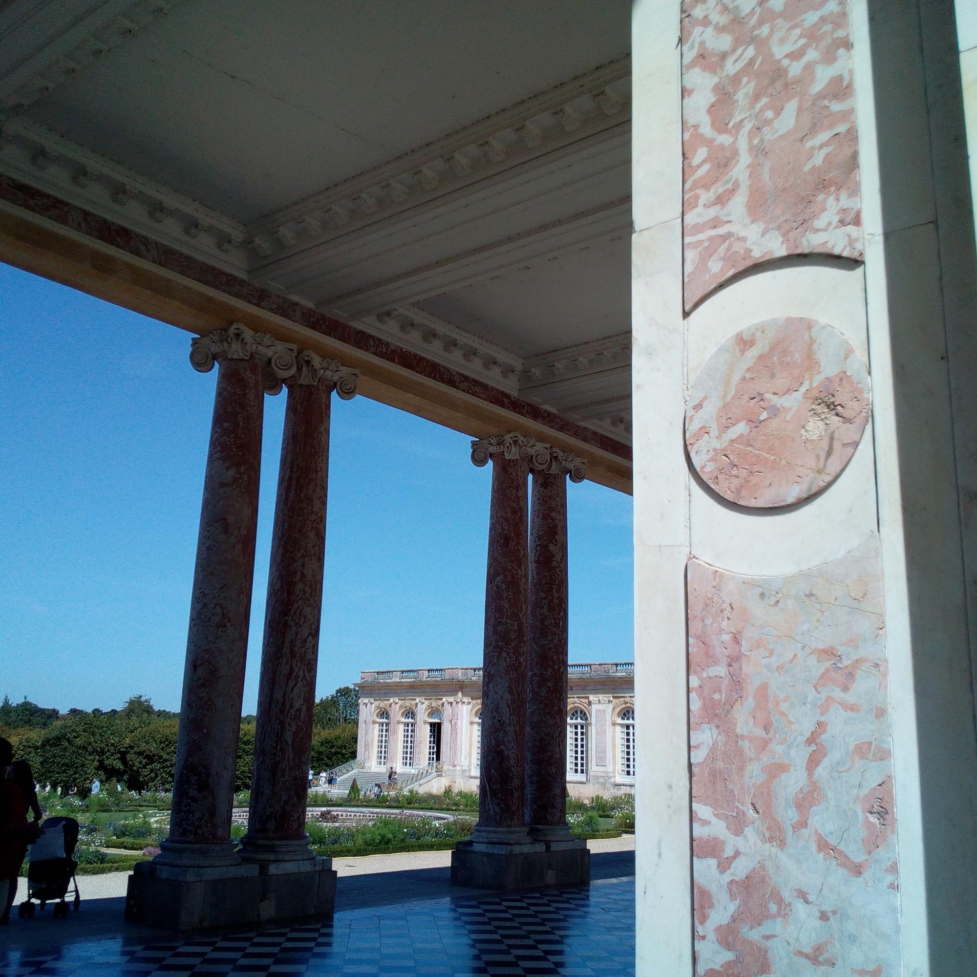 Le péristyle du Grand Trianon
