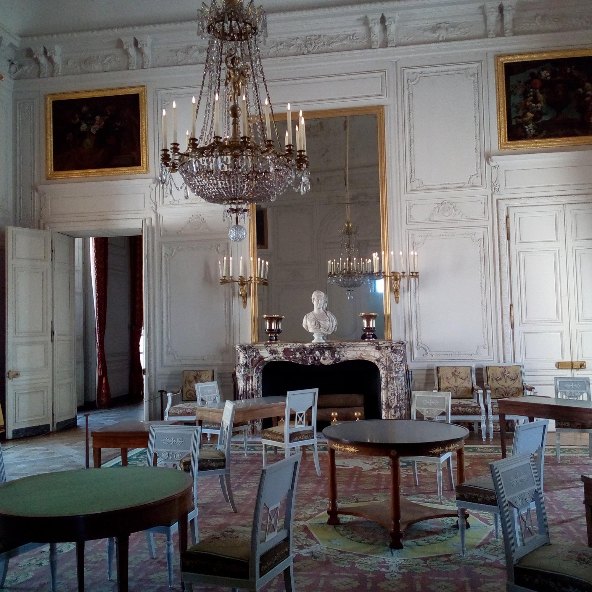 Le Grand Trianon, Salon de famille de l'Empereur