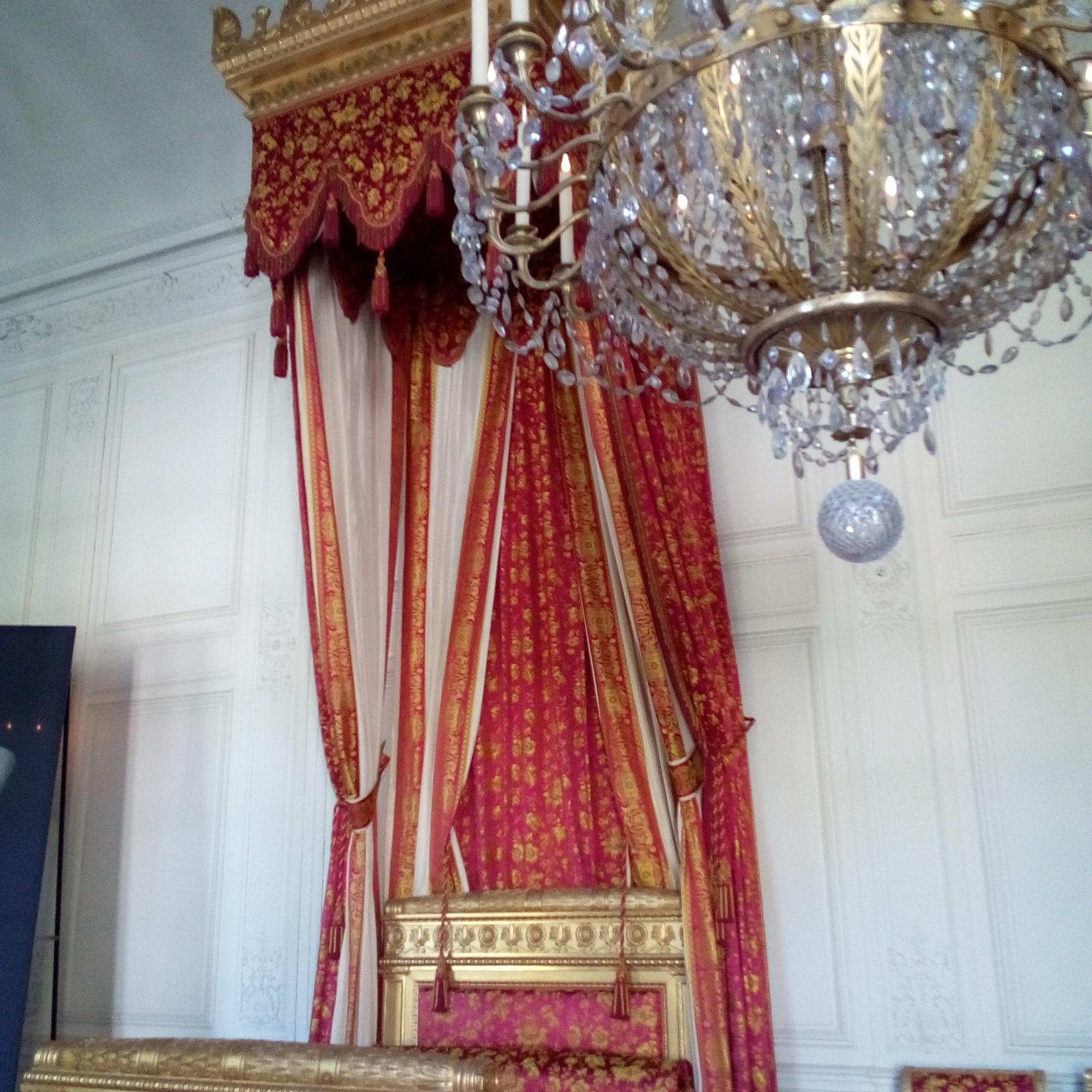 le Grand Trianon, chambre de la Reine des Belges