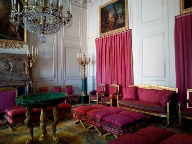 Grand Trianon, Salon des Malachites