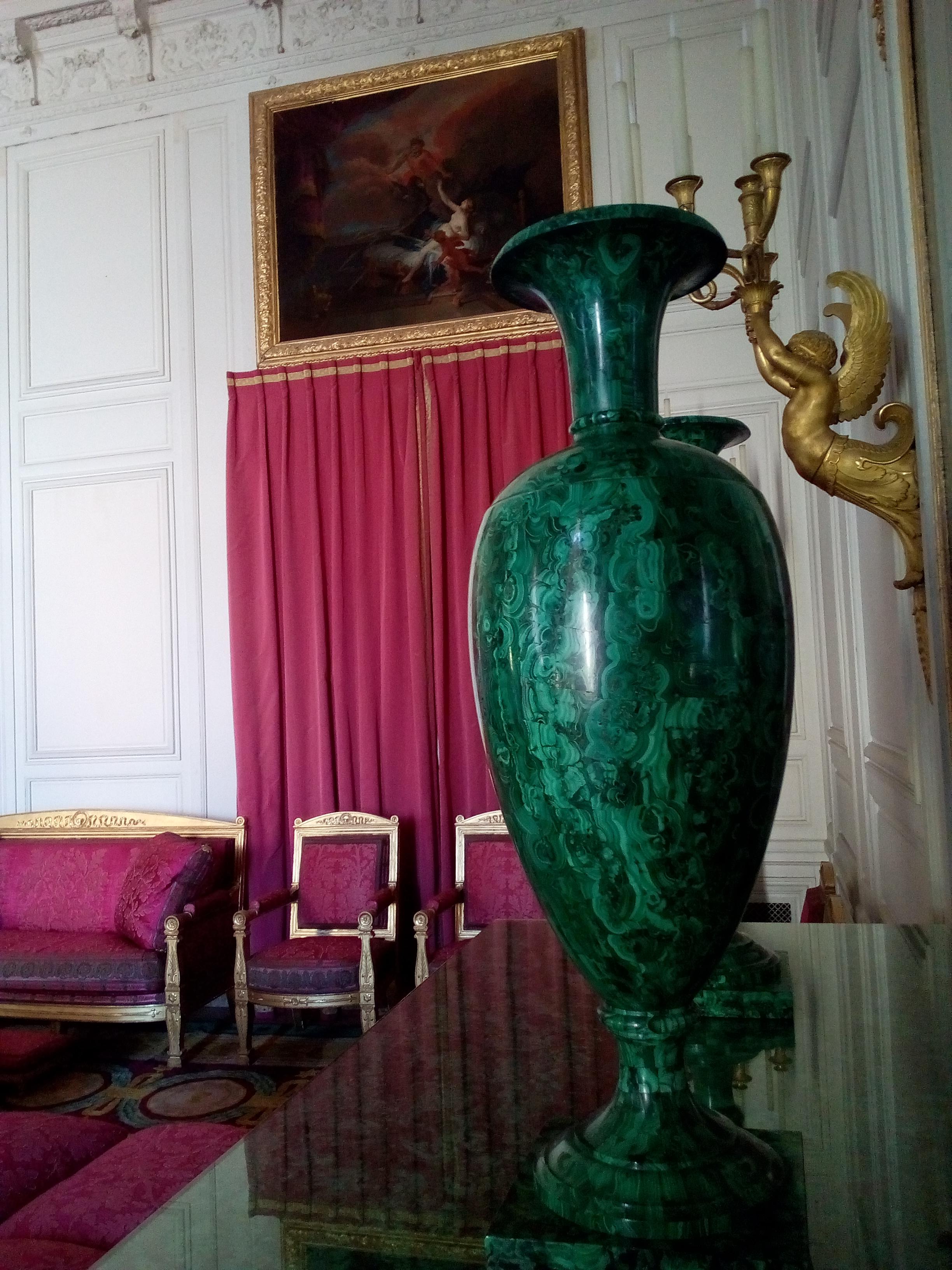 Le Grand Trianon, Salon des Malachites