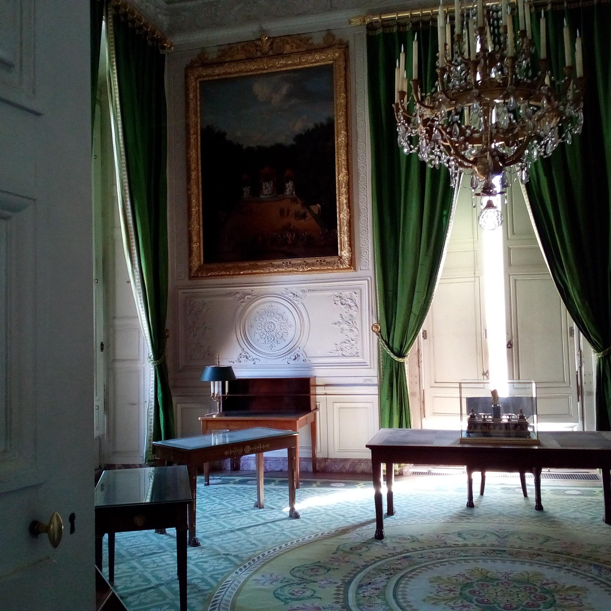 Grand Trianon, Cabinet Topographique de l'Empereur