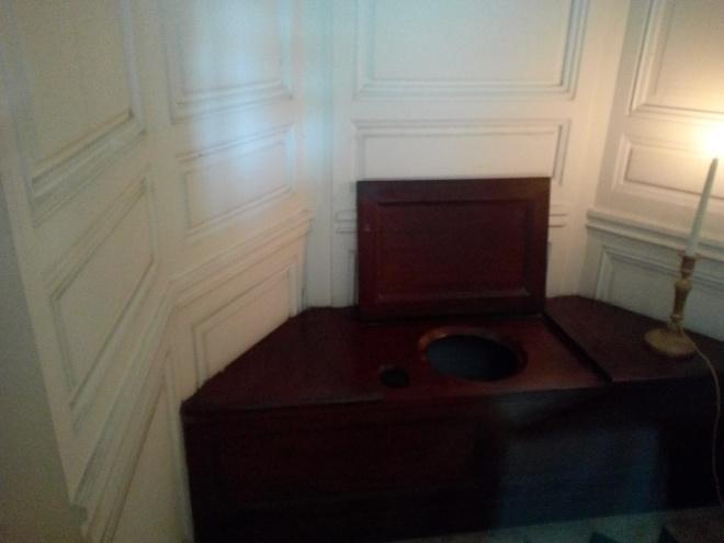 Petit Trianon, évocation du Cabinet de toilette de Marie-Louise
