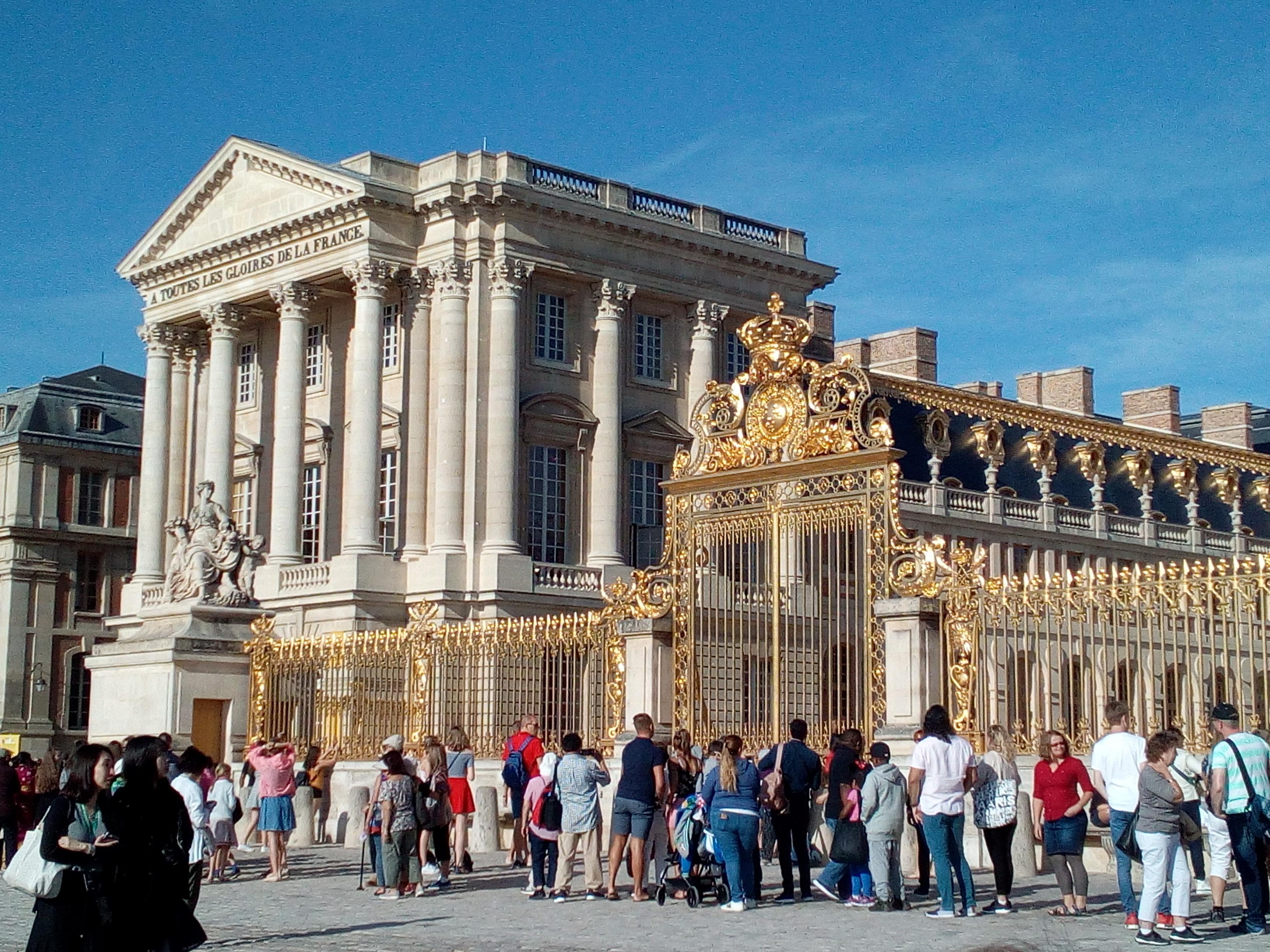 Accès château de Versailles par la Cour d'honneur 4