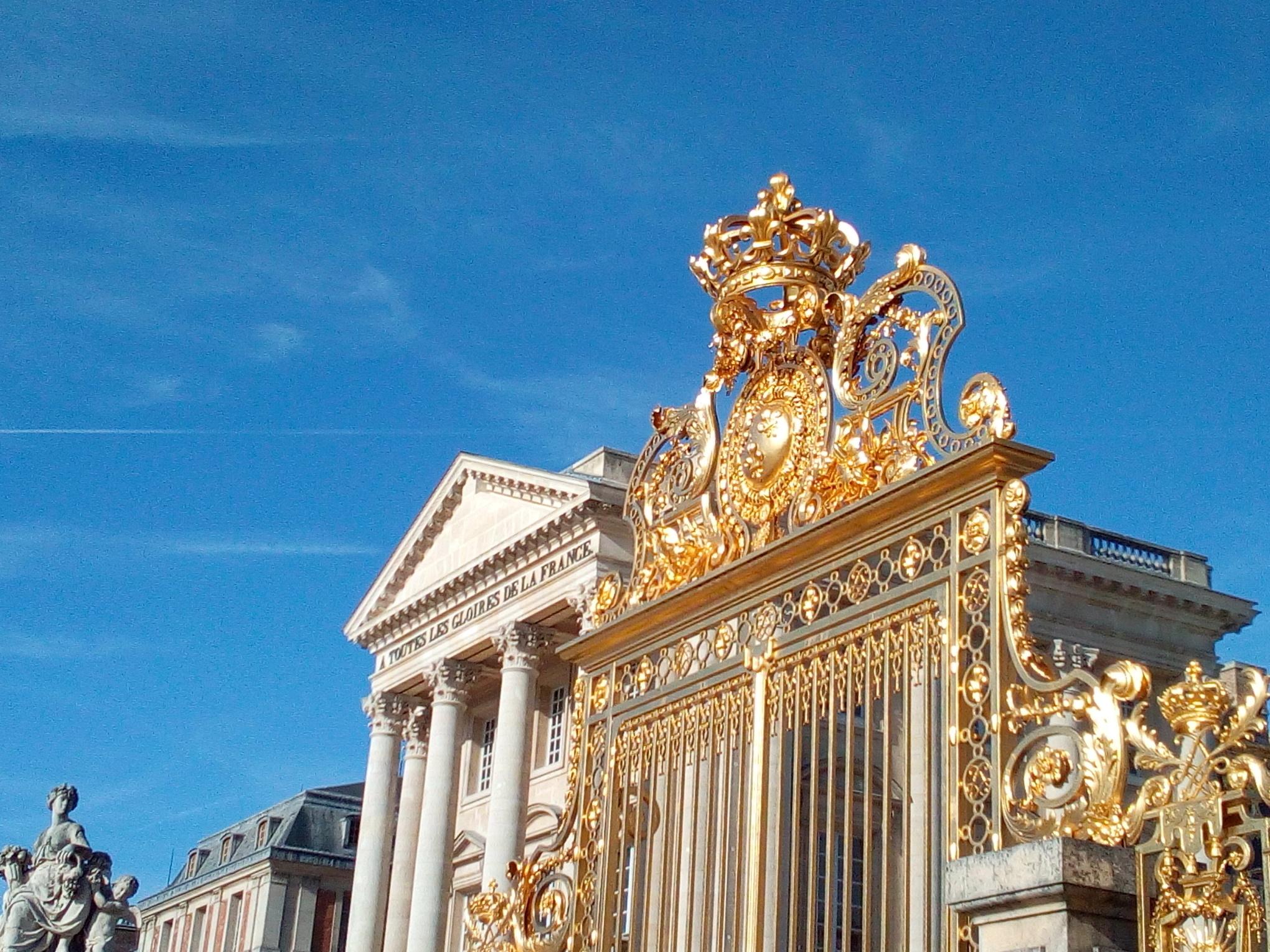 Grille de la Cour d'Honneur du château de Versailles 3