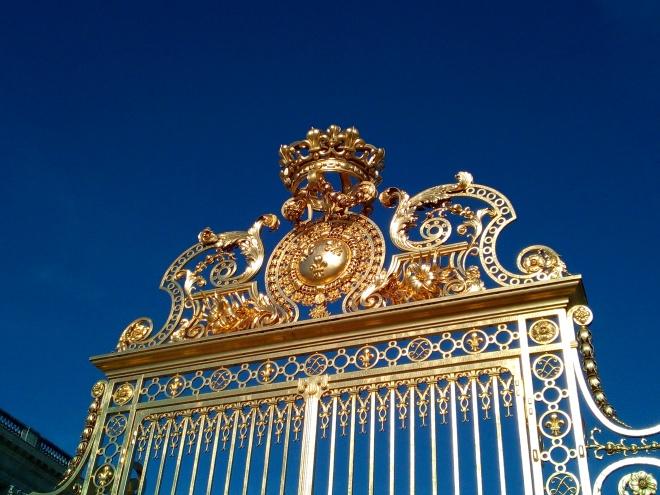 Grille de la Cour d'Honneur du château de Versailles 1