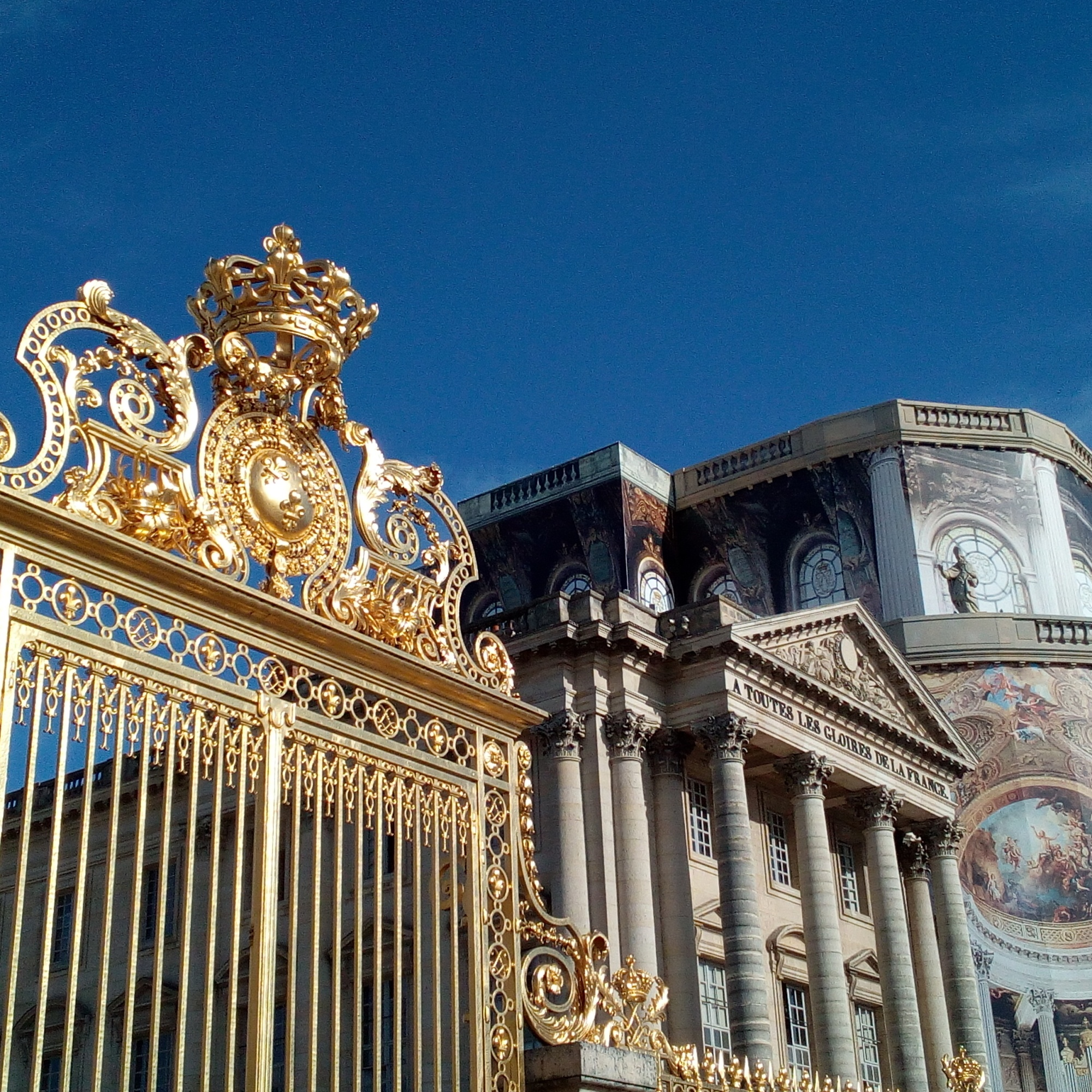 Grille de la Cour d'Honneur du château de Versailles