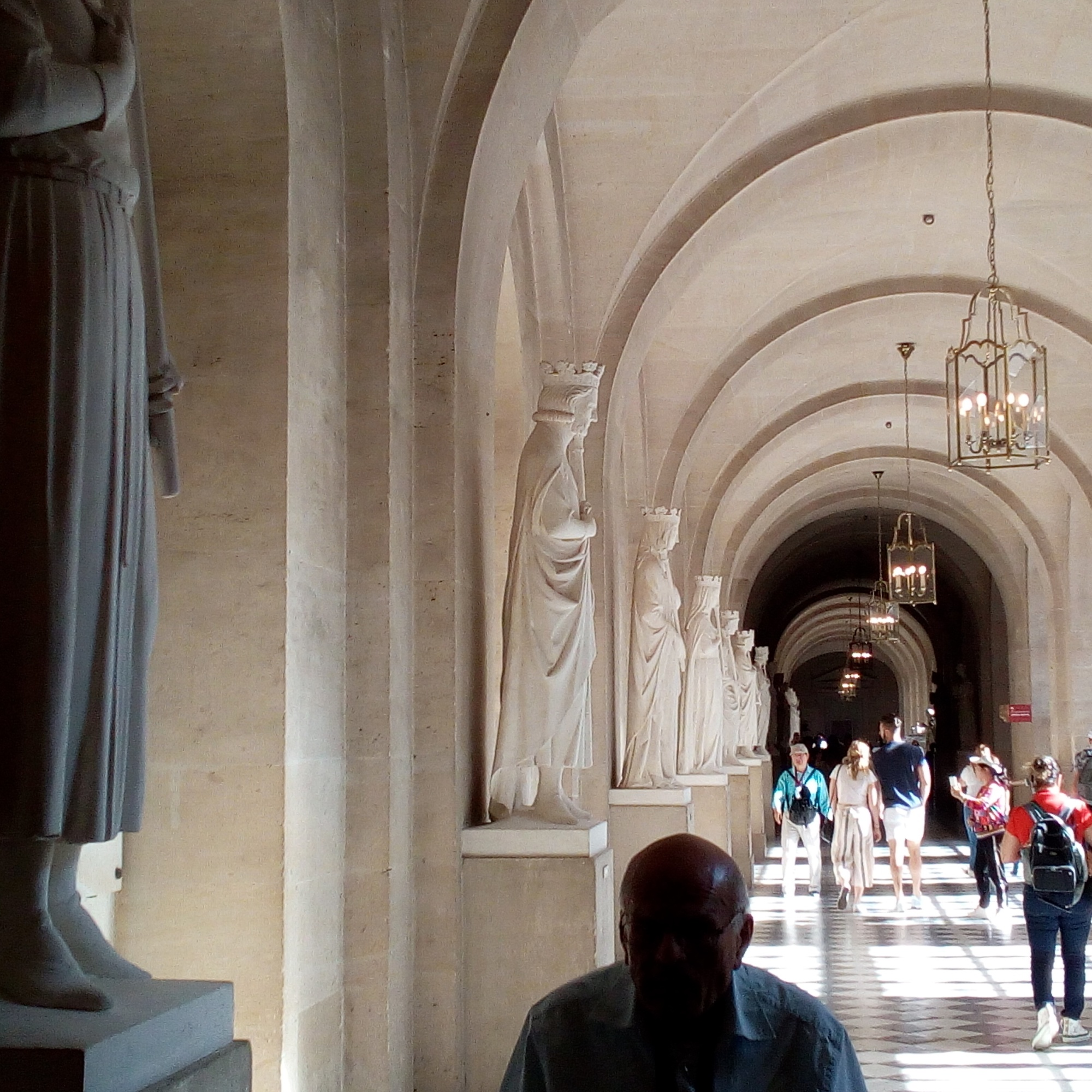 Château de Versailles, accès à la chapelle