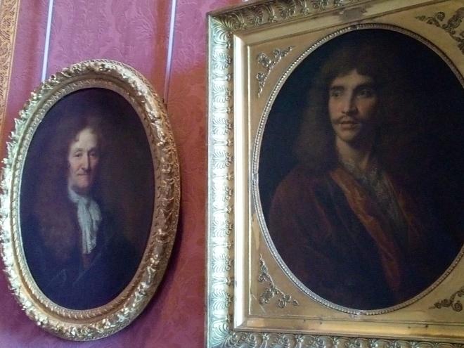Château de Versailles, Jean de la Fontaine et Jean-Baptiste Poquelin dit Molière