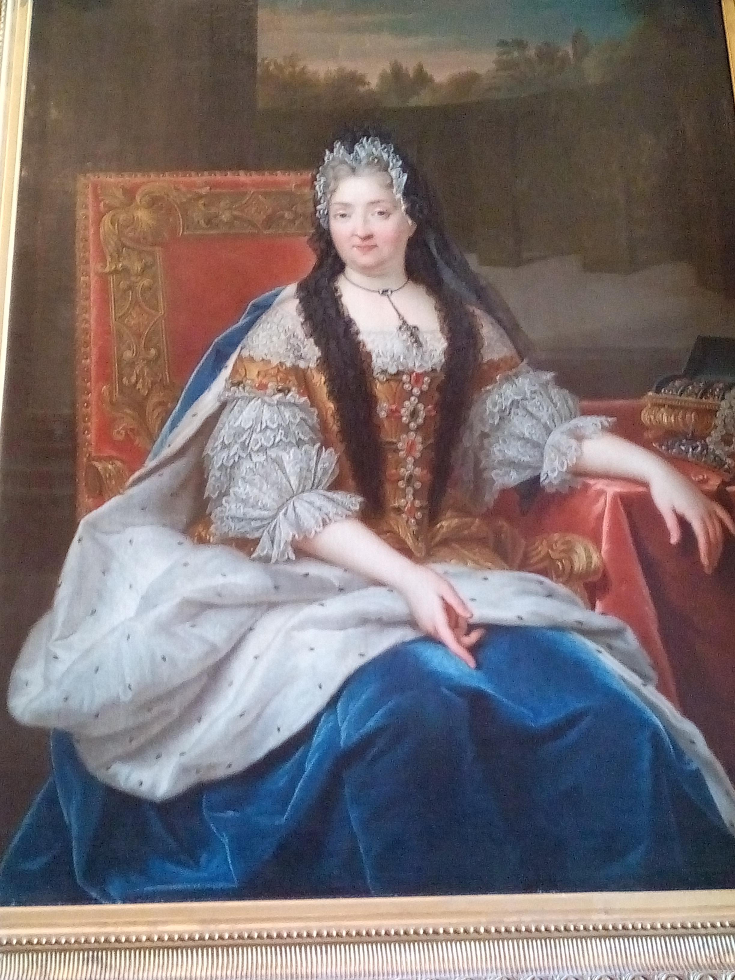 Château de Versailles, aile Nord, 1717, Charlotte de La Mothe-Houdancourt, duchesse de Ventadour