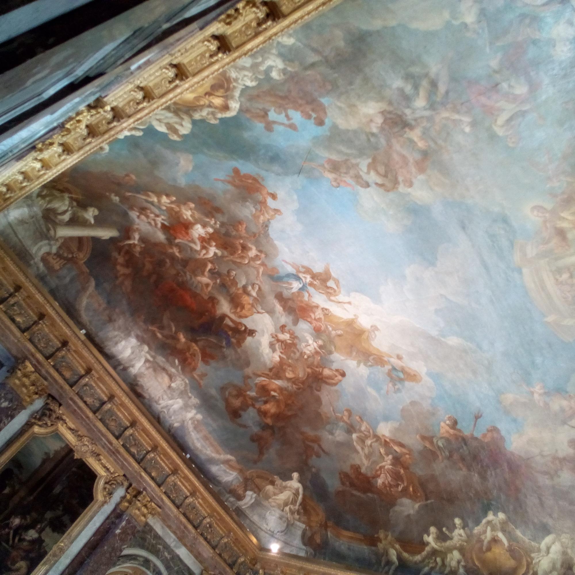 Le château de Versailles, le Salon d'Hercule
