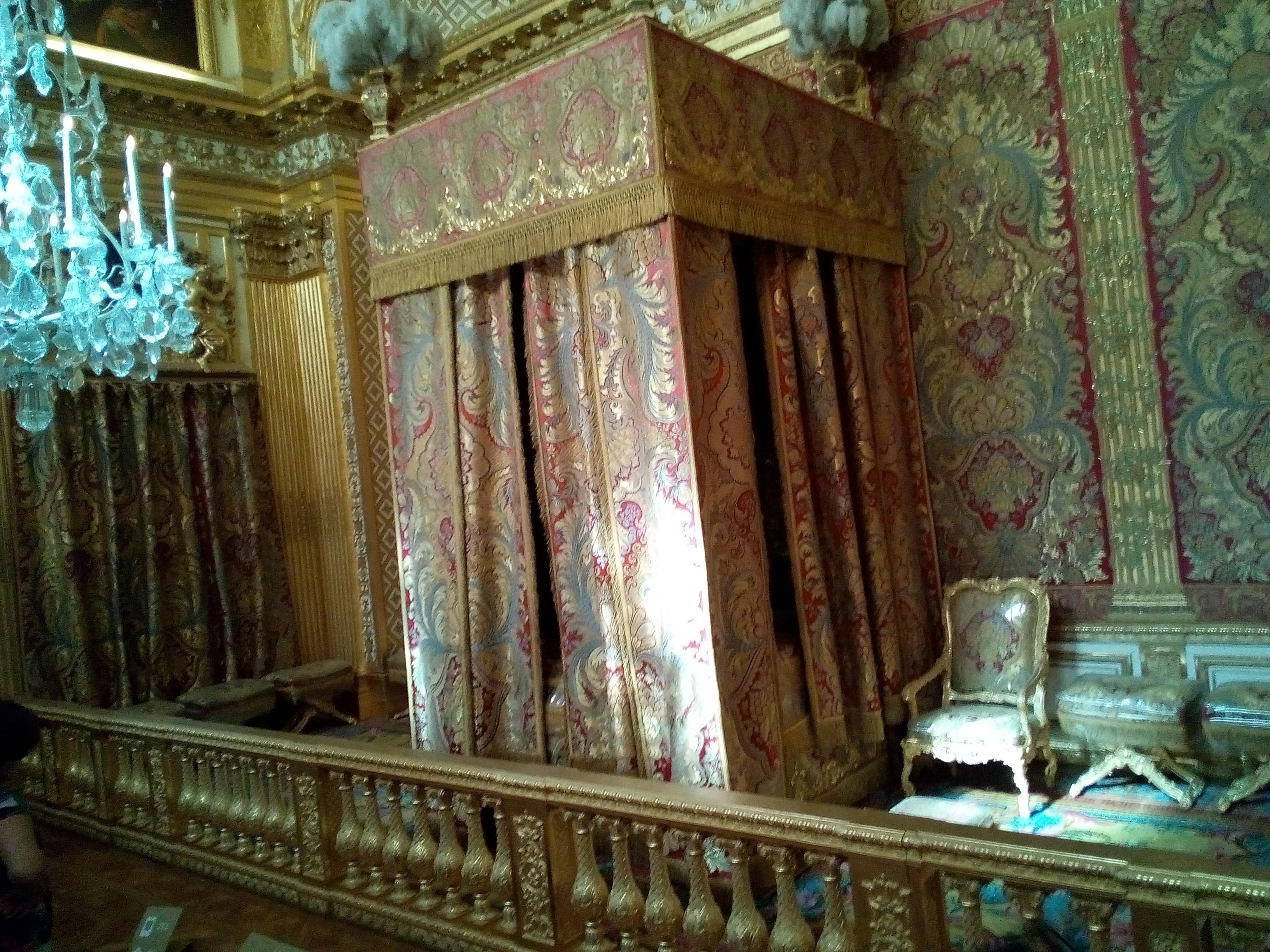 Château de Versailles, la Chambre du Roi