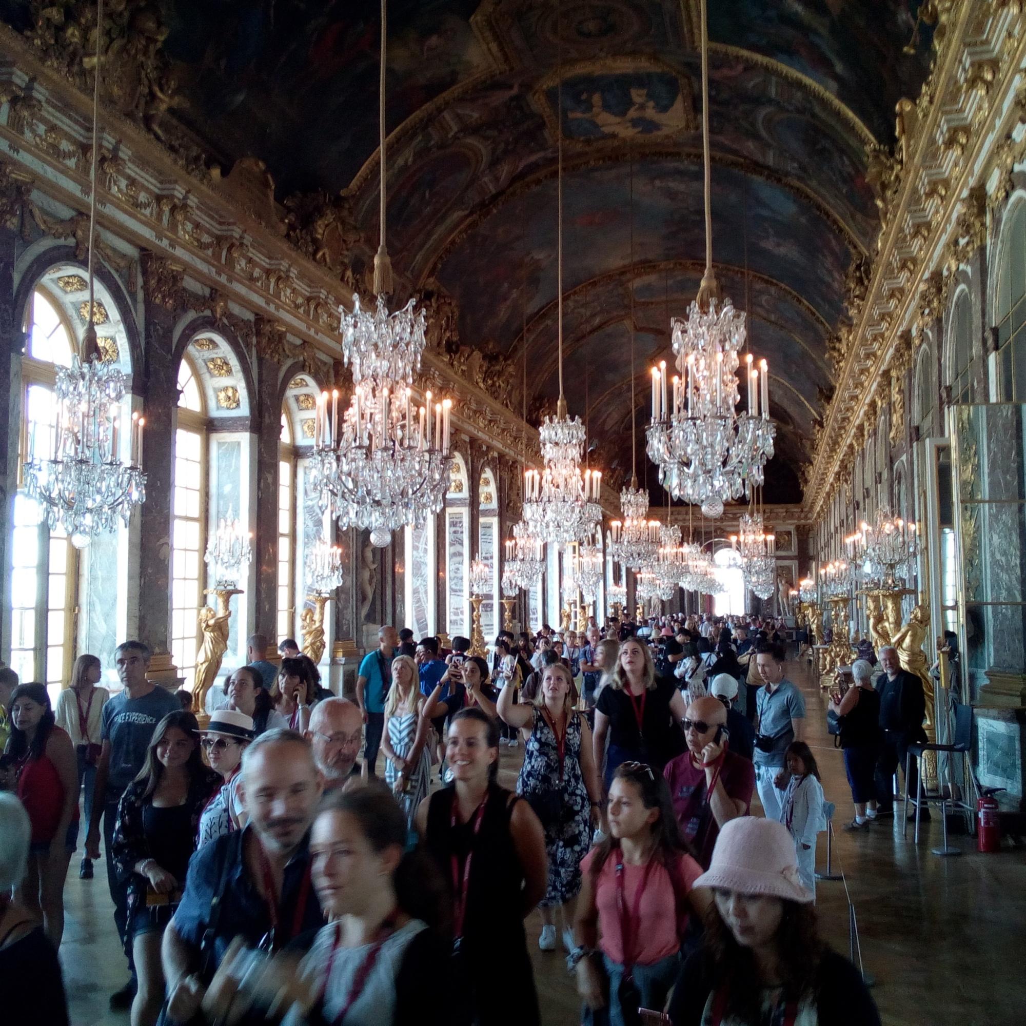 Château de Versailles, Galerie des Glaces