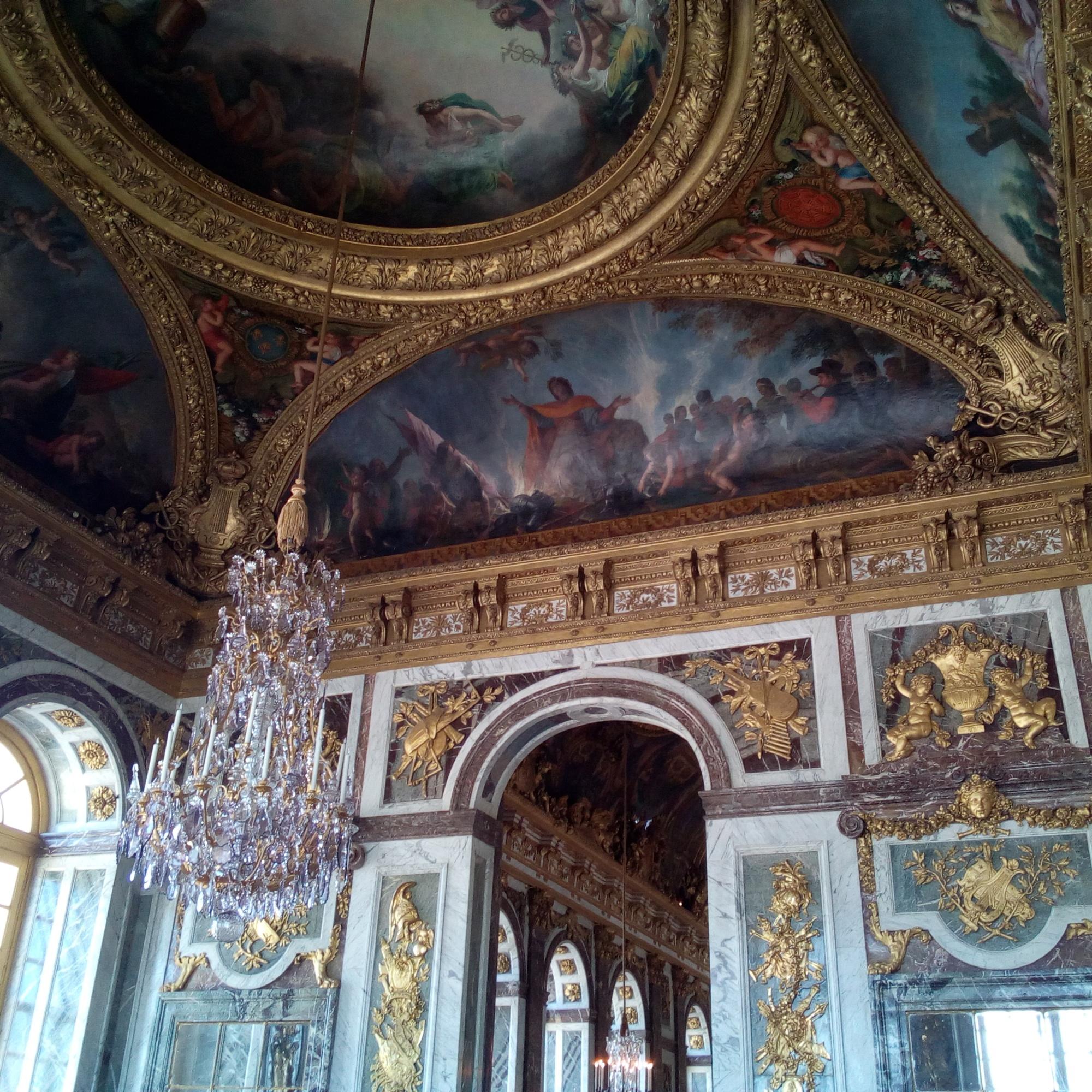 Château de Versailles le Salon de la Paix
