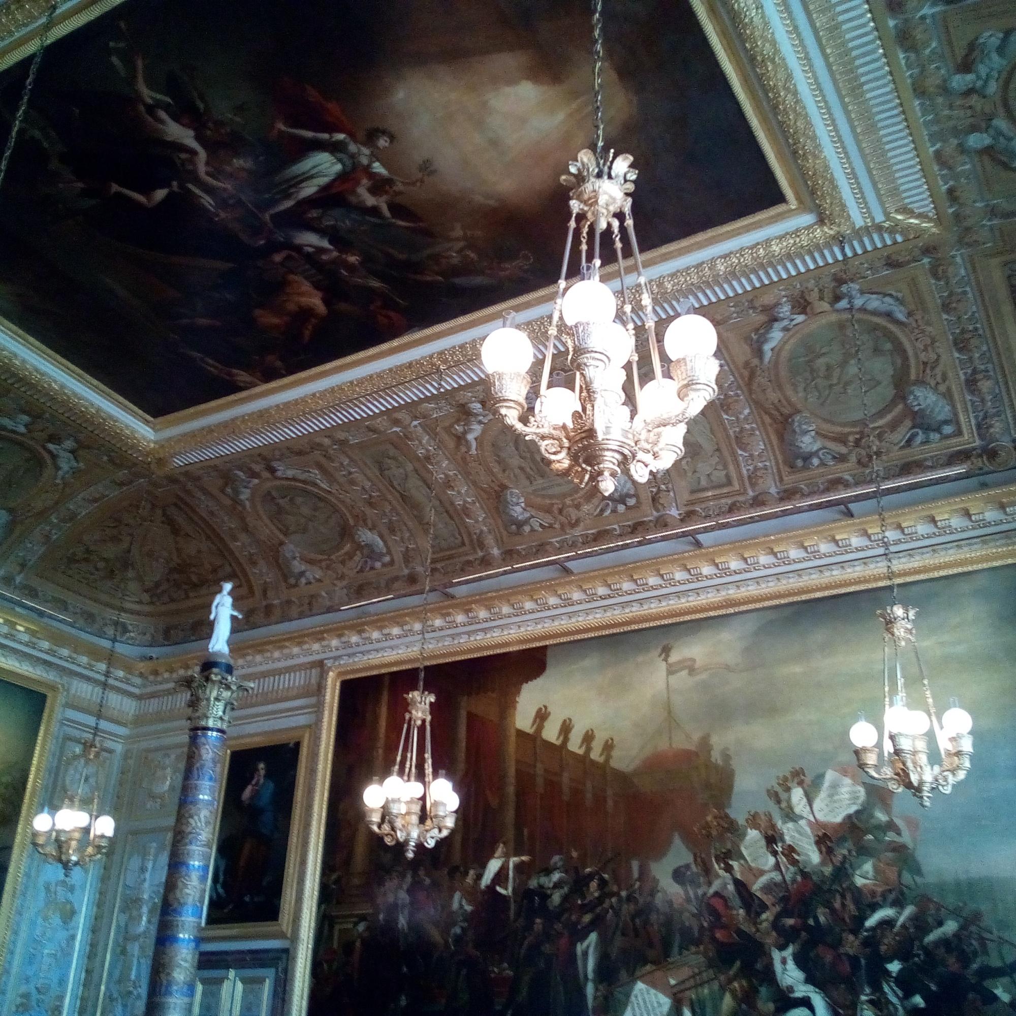 Château de Versailles, la Salle du Sacre
