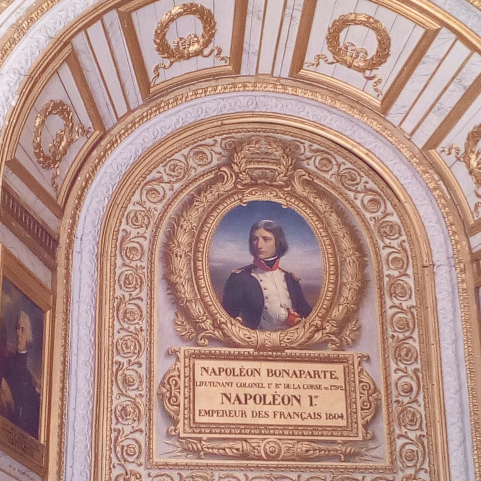 Château de Versailles, Salle 1792, Napoléon 1er