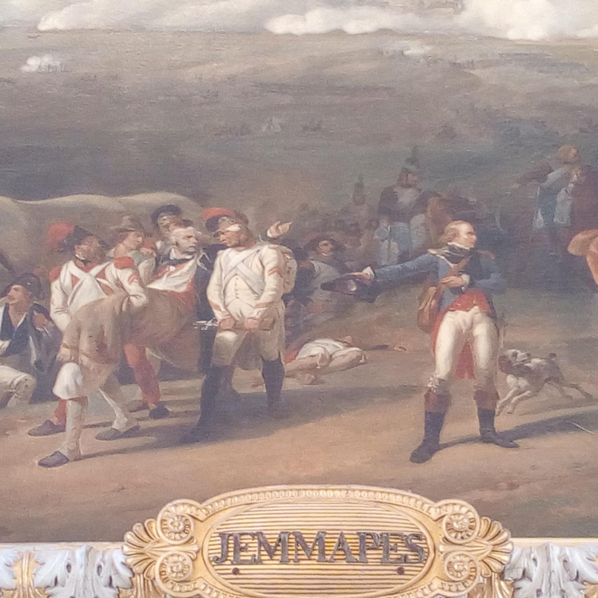 Château de Versailles, Salle 1792, Bataille de Jemmapes