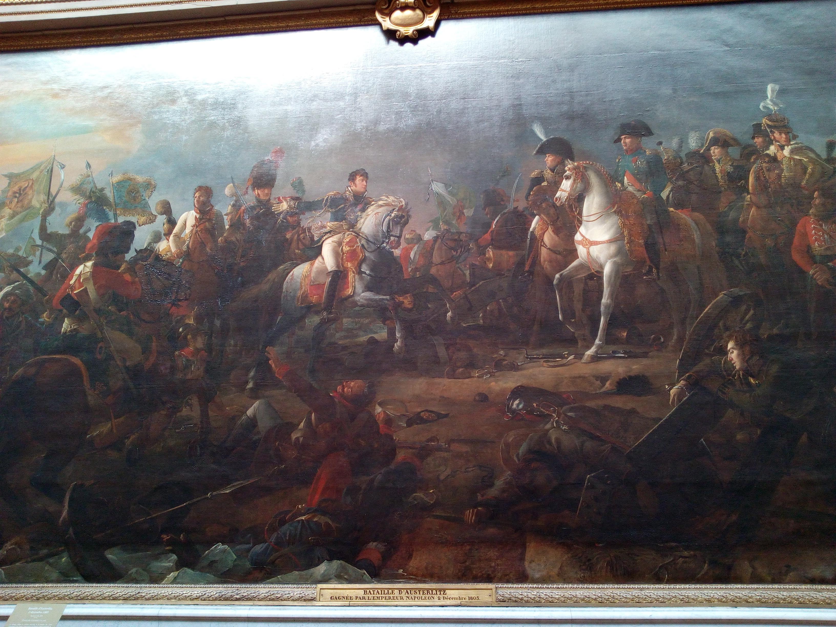 Galerie des Batailles du château de Versailles, Bataille d'Austerlitz 1805, Gérard