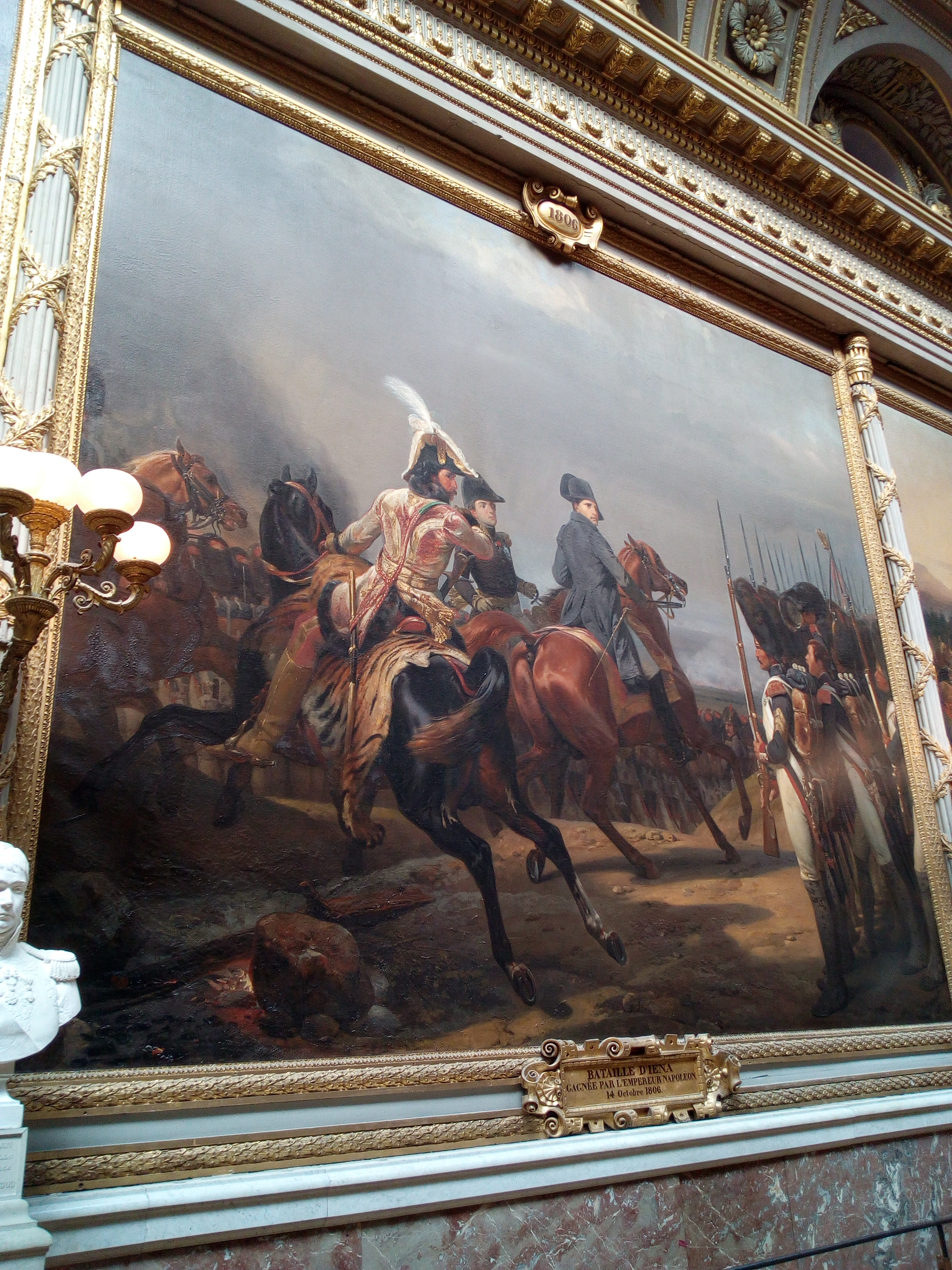 Galerie des Batailles du château de Versailles, Bataille d'Iéna 1806, Vernet