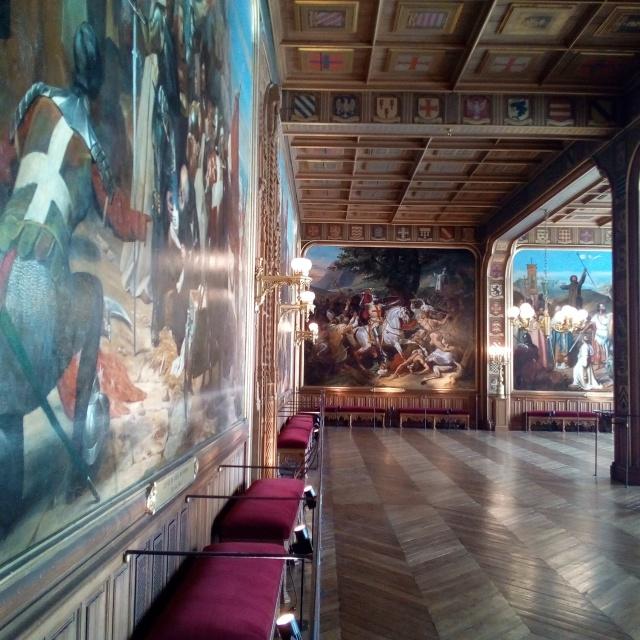 Salle des Croisades du château de Versailles