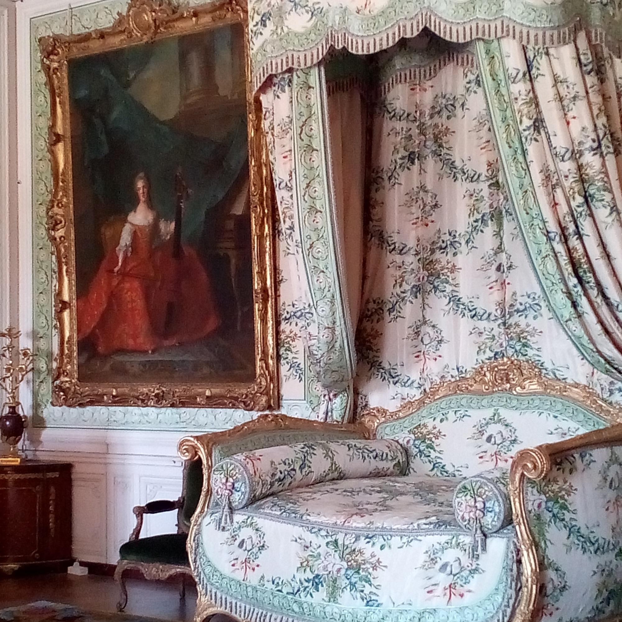 Les Appartements de Mesdames, la chambre de Madame Victoire