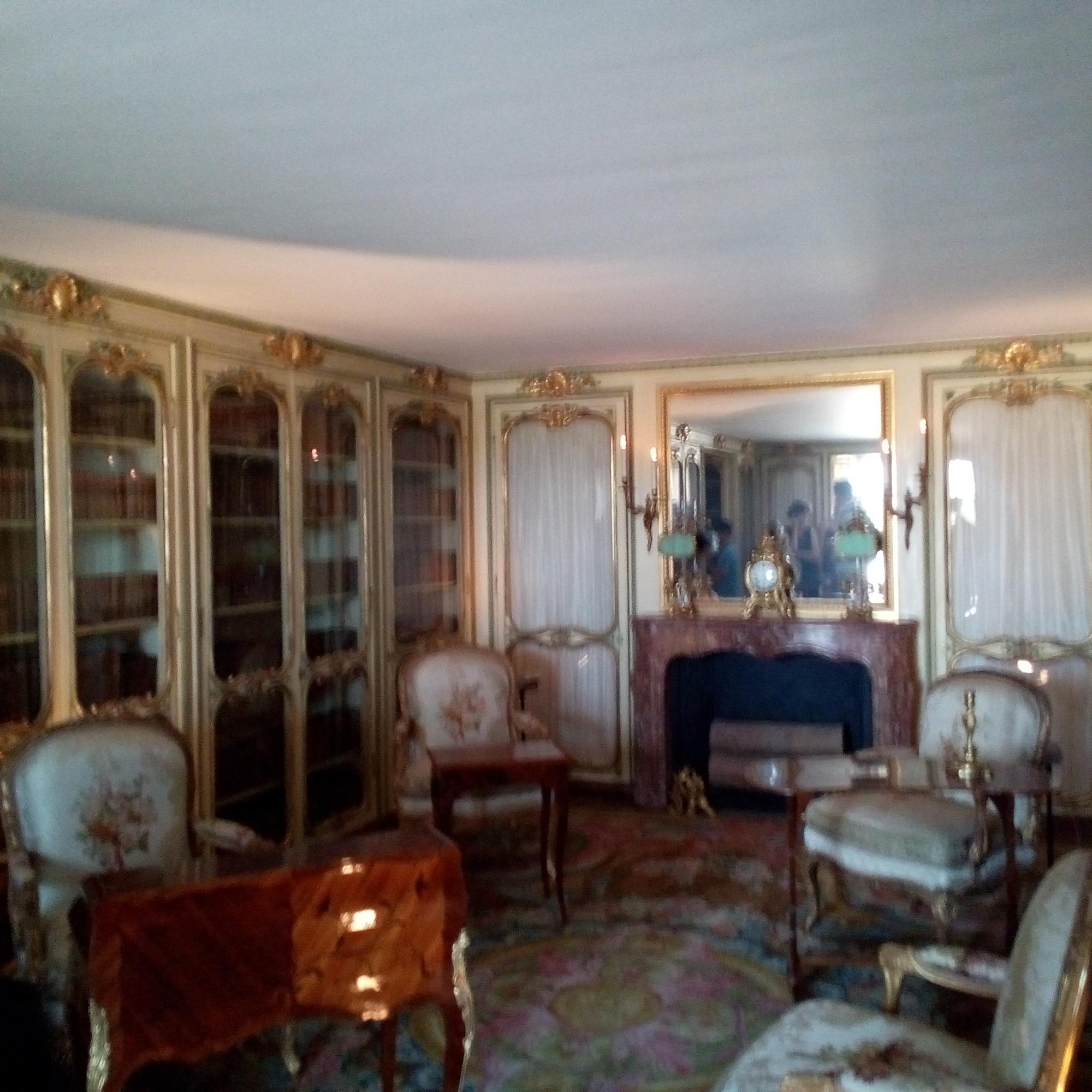 Les Appartements de Mesdames au château de Versailles, la bibliothèque