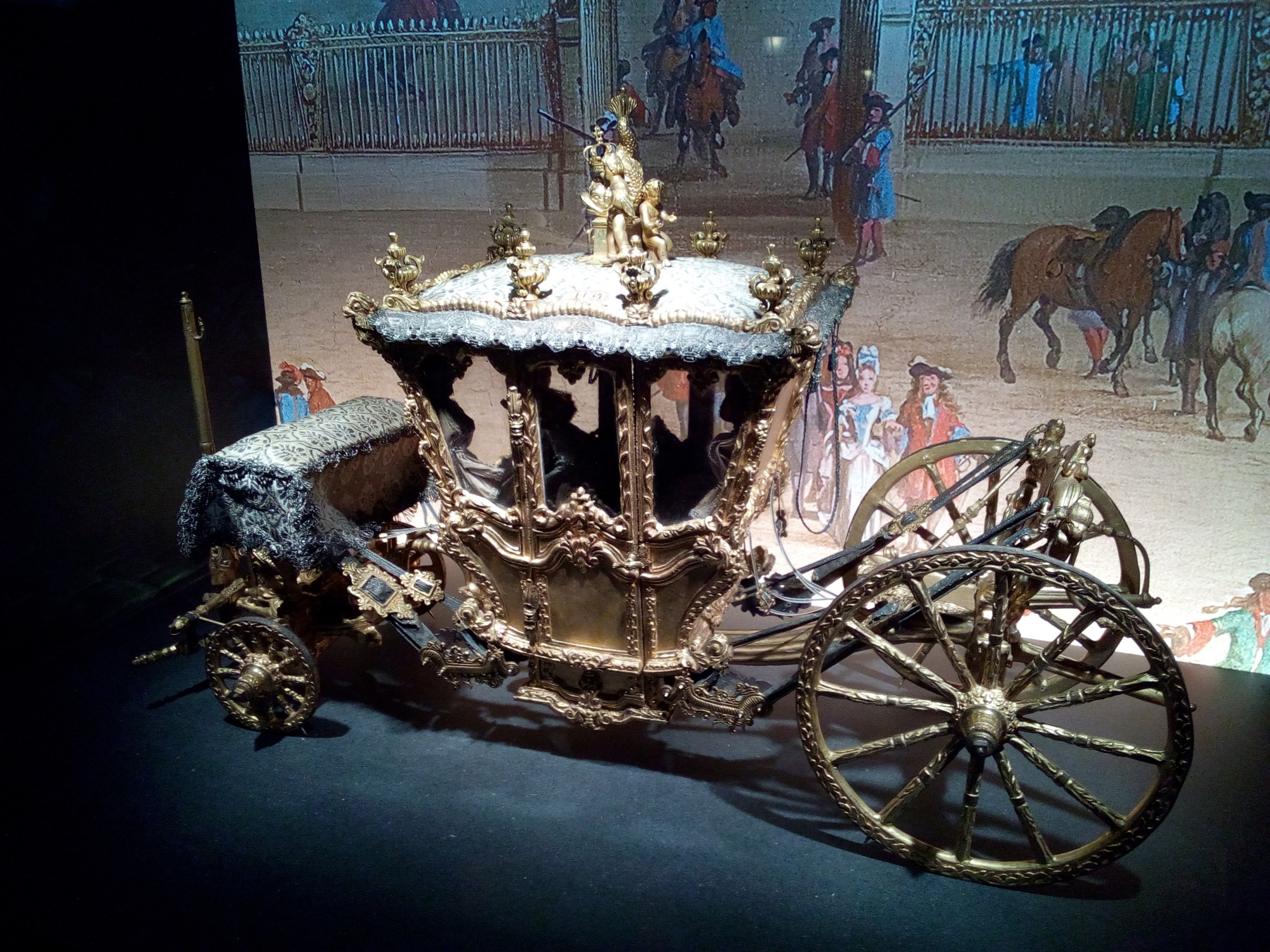La Galerie des Carrosses du château de Versailles