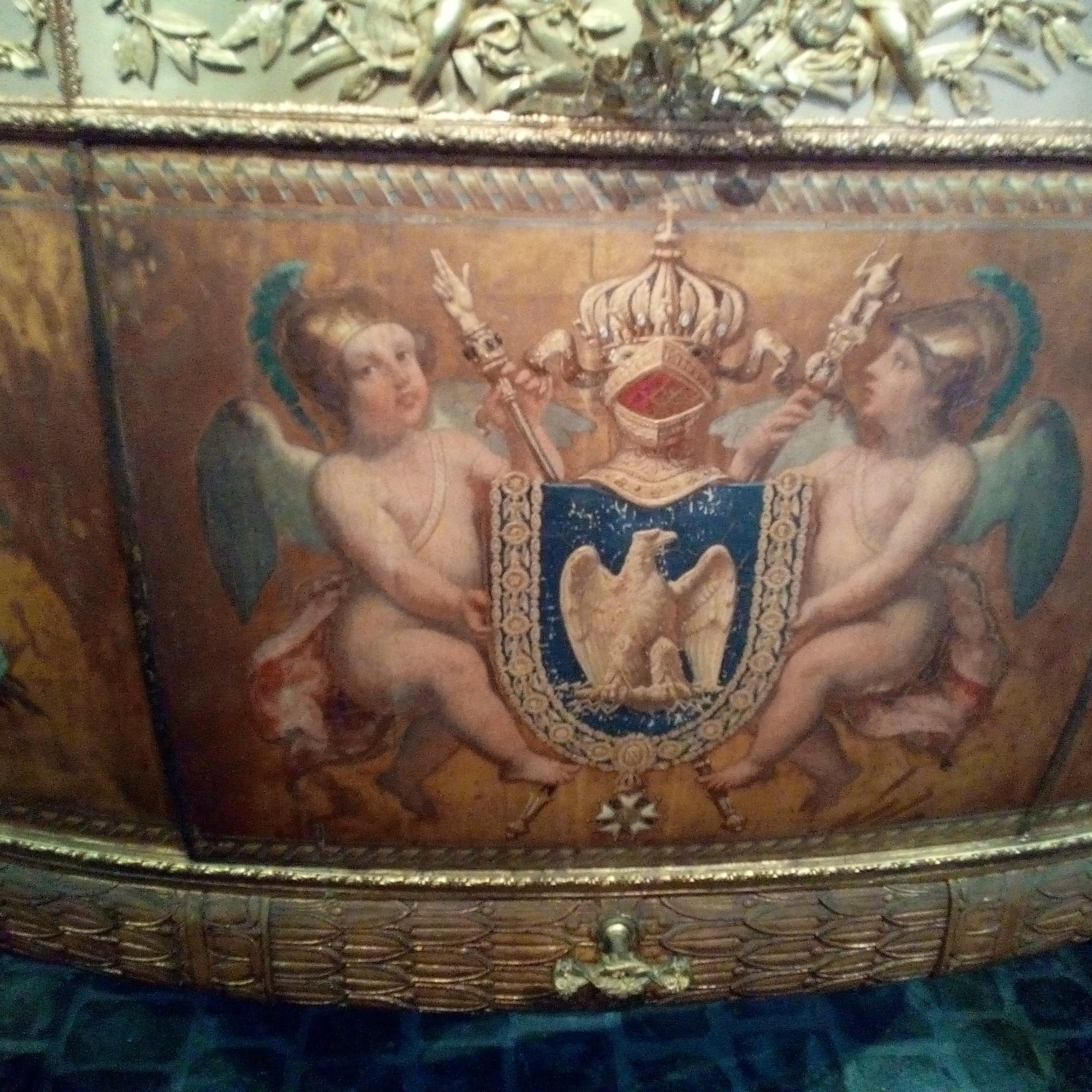 Galerie des Carrosses du château de Versailles, Baptême du duc de Bordeaux