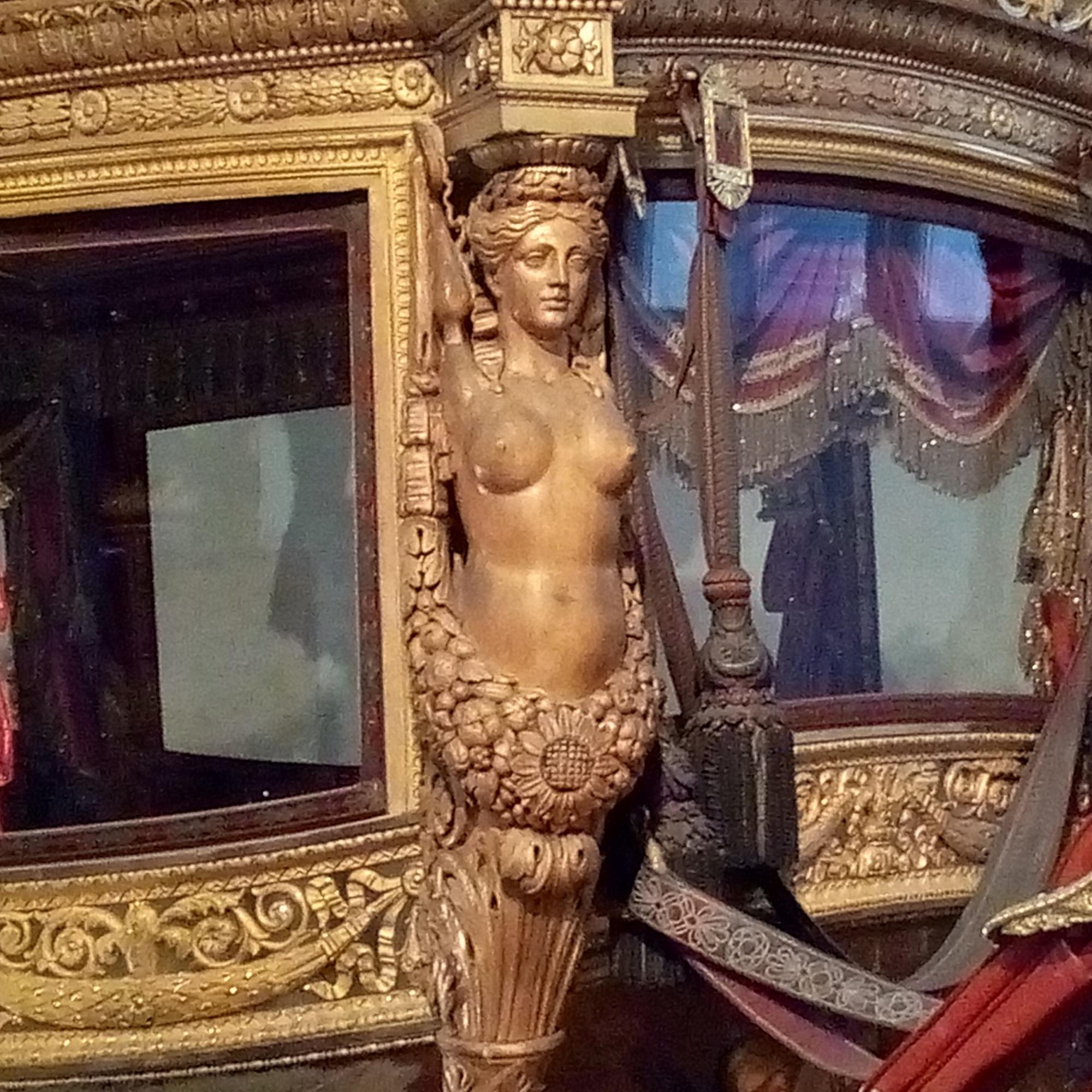 Galerie des Carrosses du château de Versailles, sacre de Charles X