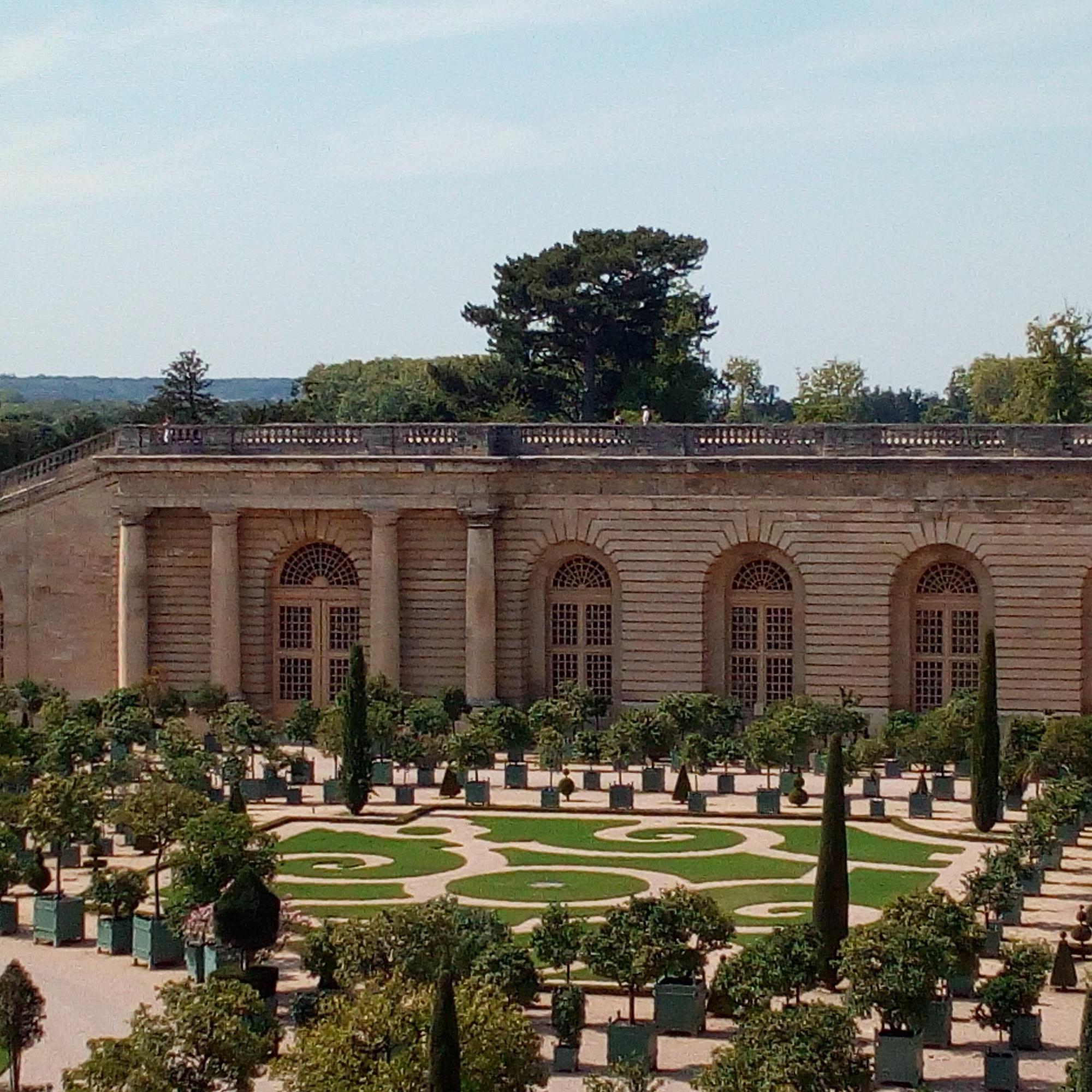 Château de Versailles, Jardins, l'Orangerie