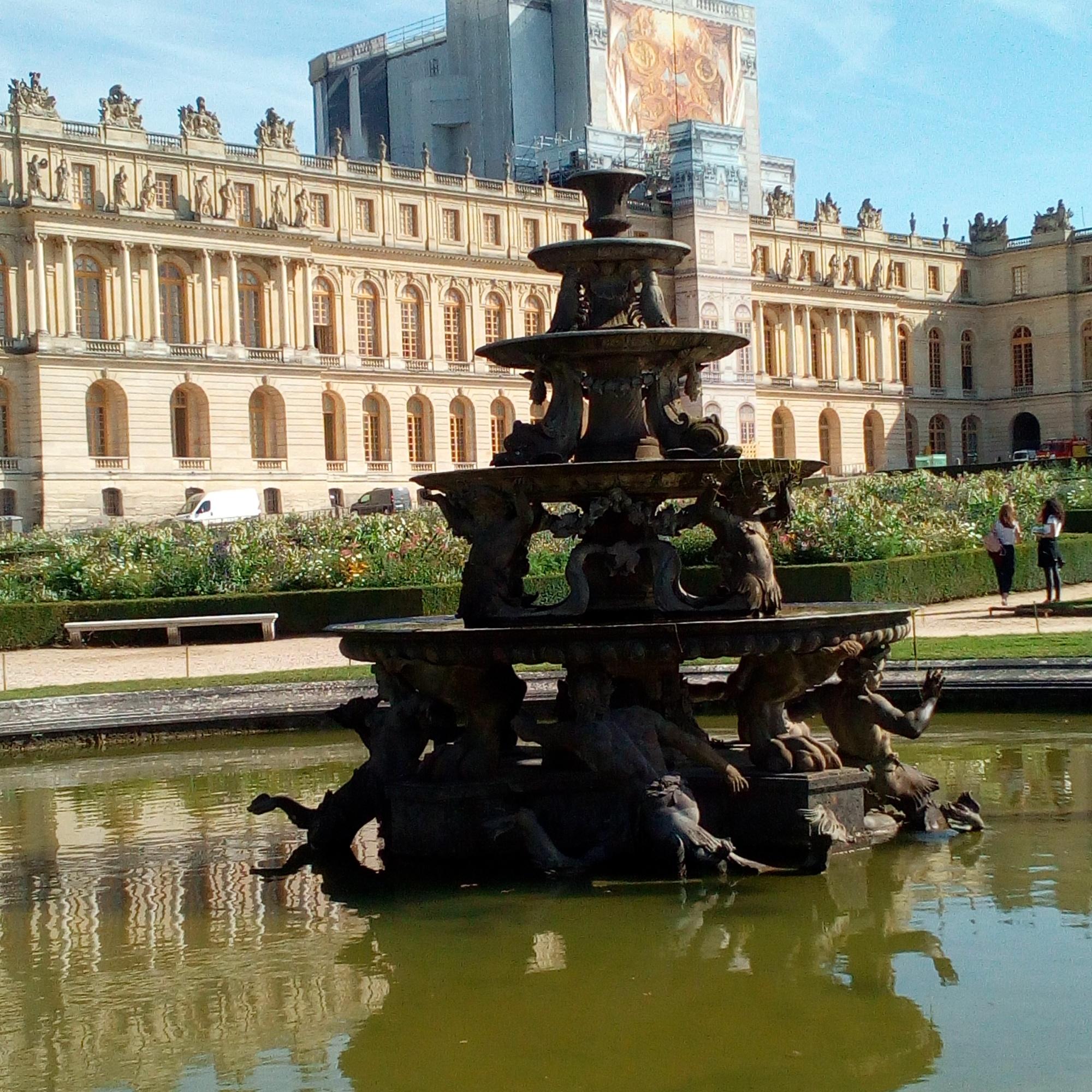 Château de Versailles, Jardins, Pyramide