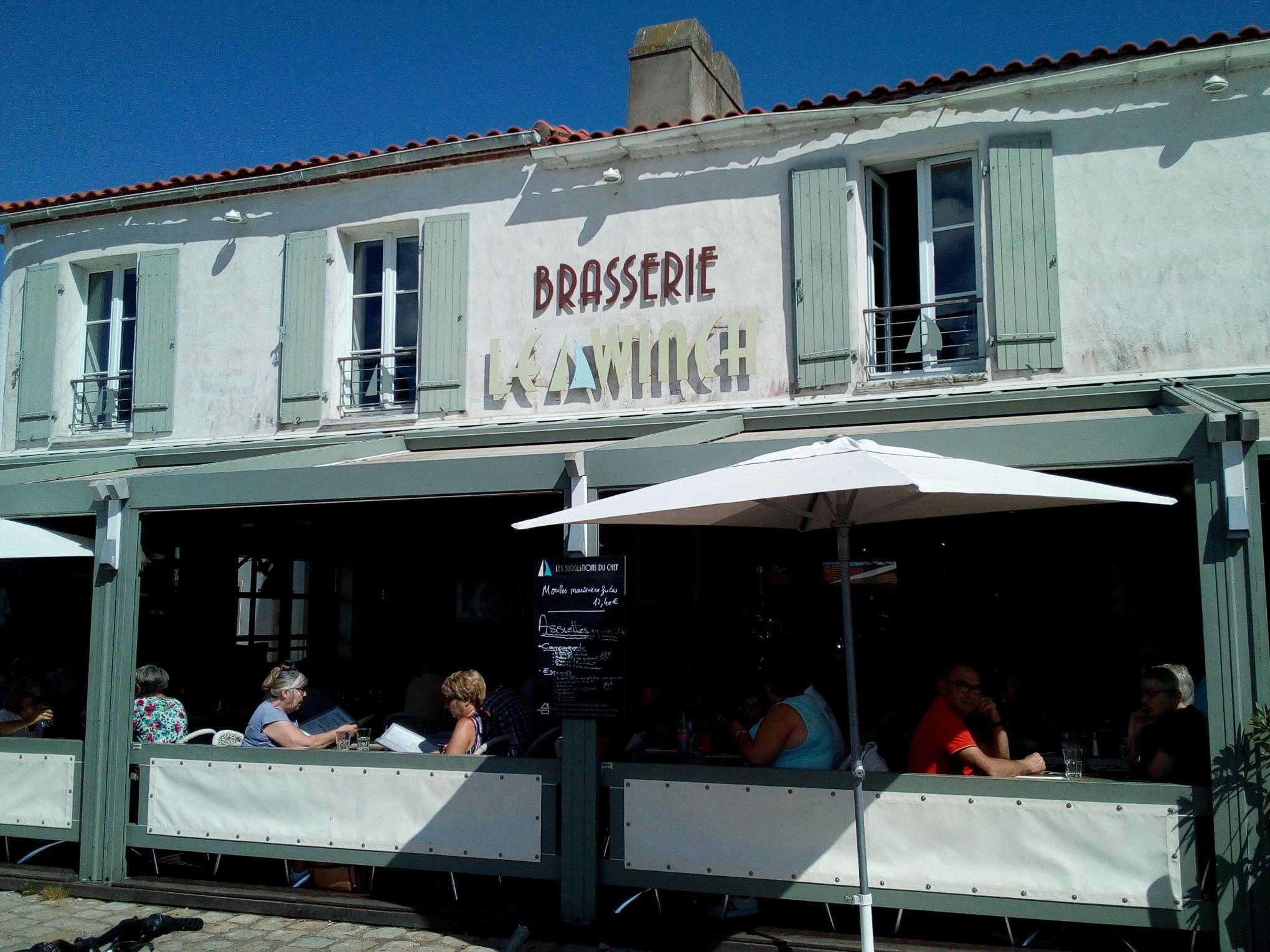 Le Winch, restaurant sur l'Île de Noirmoutier