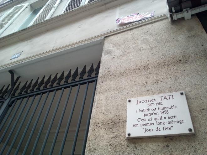 J.J. 34,rue Penthièvres Paris 8e