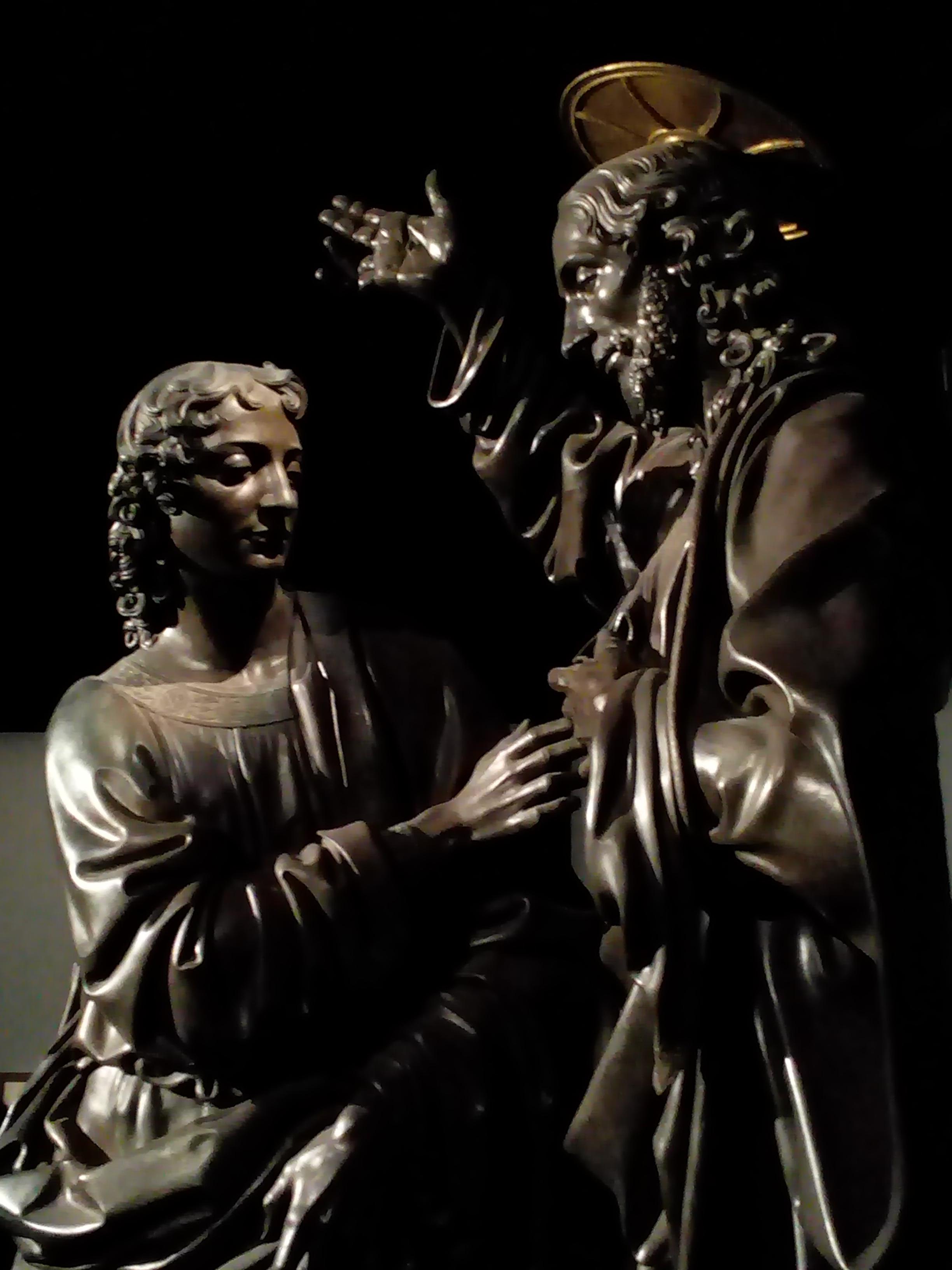 Léonard de Vinci 1452 1519 Le Louvre Le Christ et Saint-Thomas de Verrocchio 1467-1483