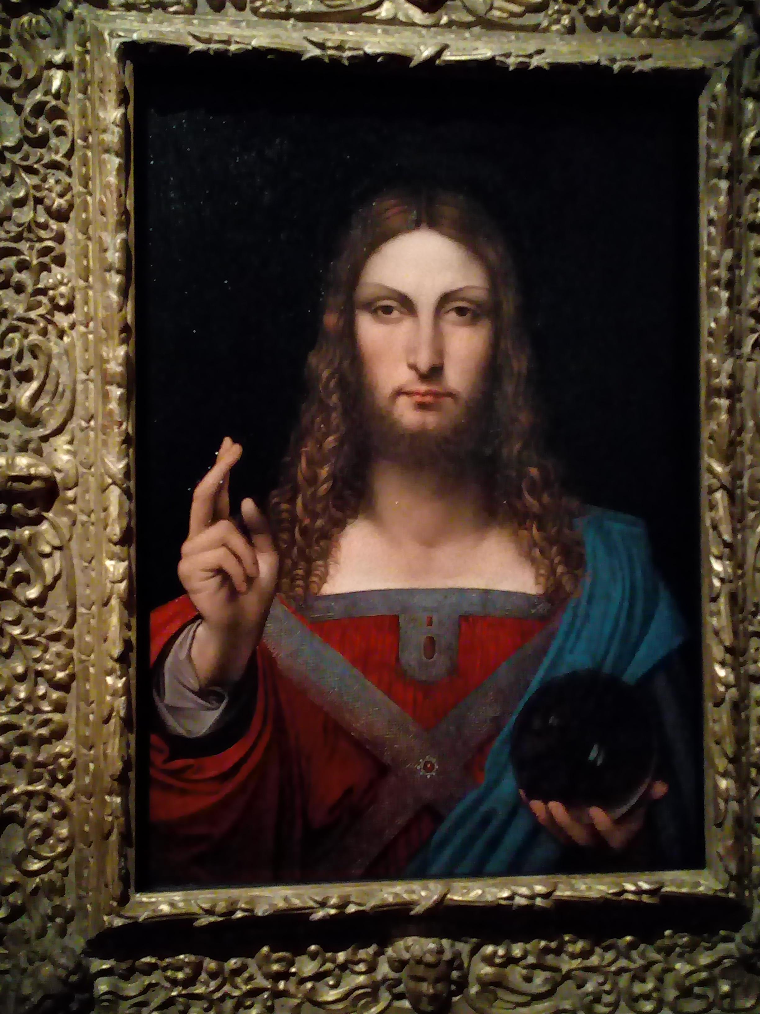 Léonard de Vinci 1452 1519 Le Louvre Salvator Mundi 1506-1513
