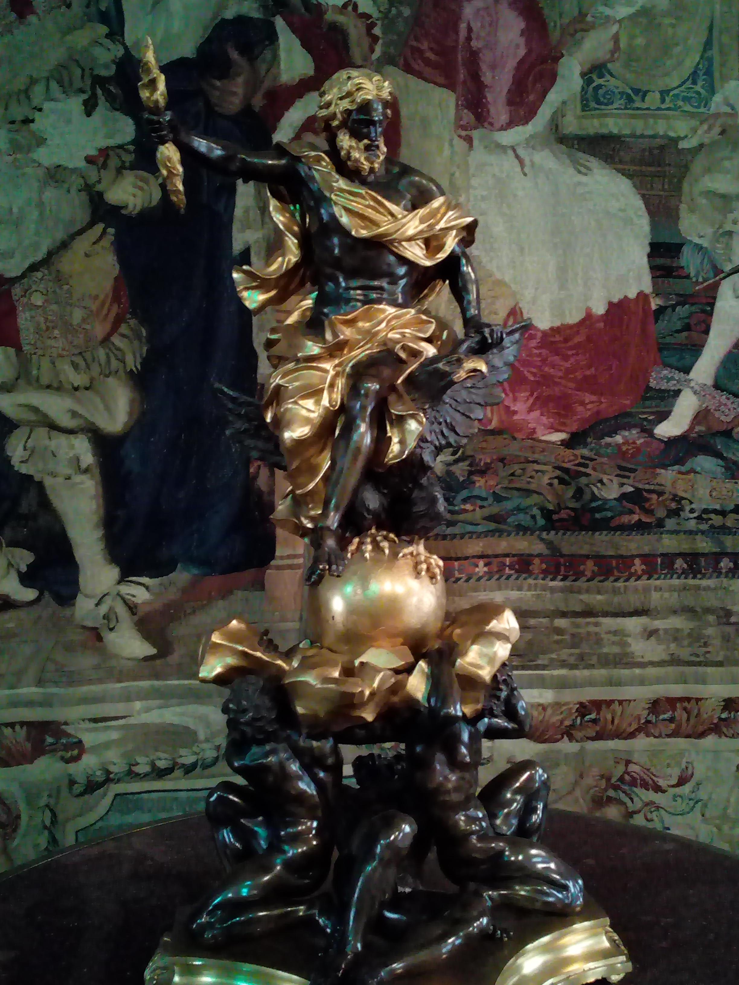 Jupiter foudroyant les titans dit Chenêt de l'Algarde Louvre