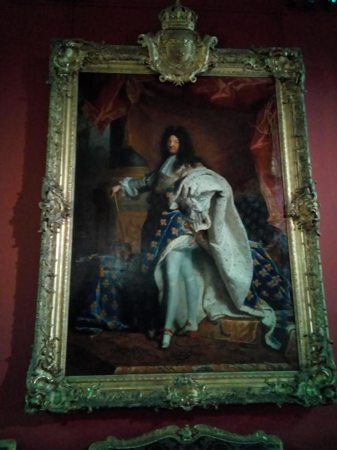 Louis XIV par Hyacinthe Rigaud Louvre