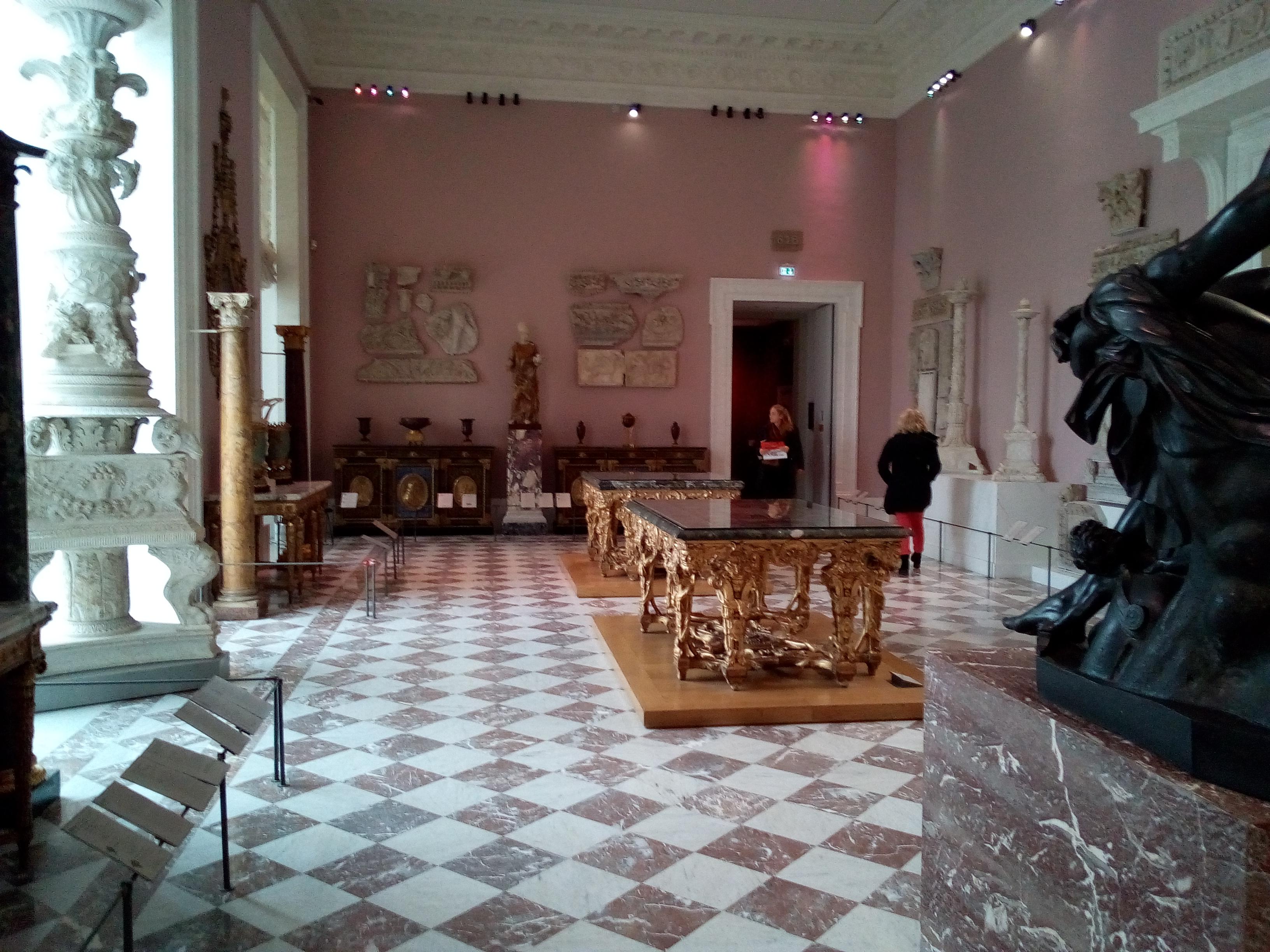 Salle Piranèse Louvre