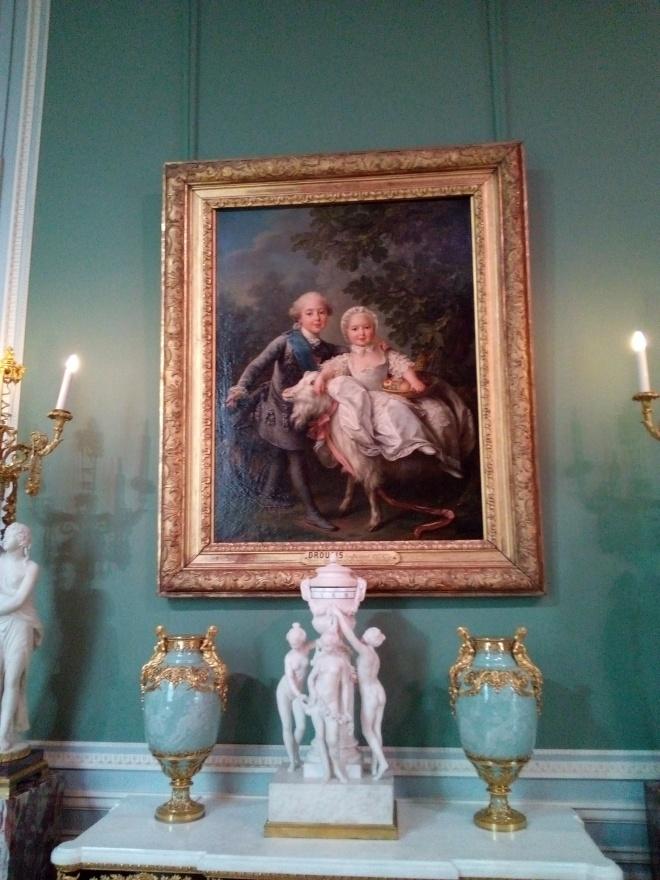 Portait du Comte d'Artois et de la future Reine de Sardaigne Louvre