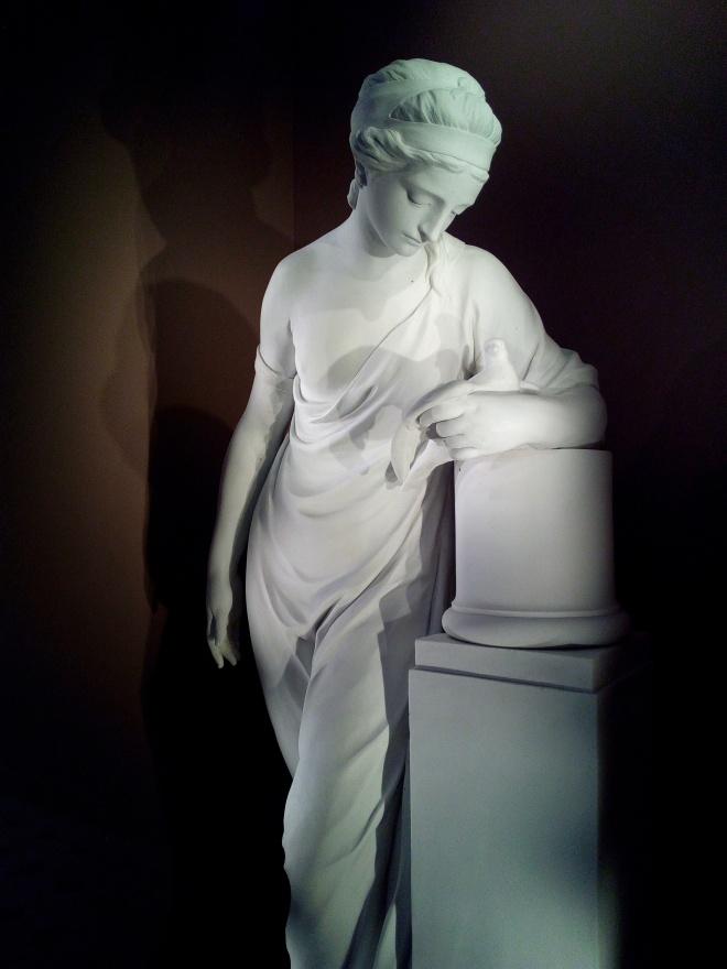 La Mélancolie d'après Etienne Maurice Falconet 1774 Louvre