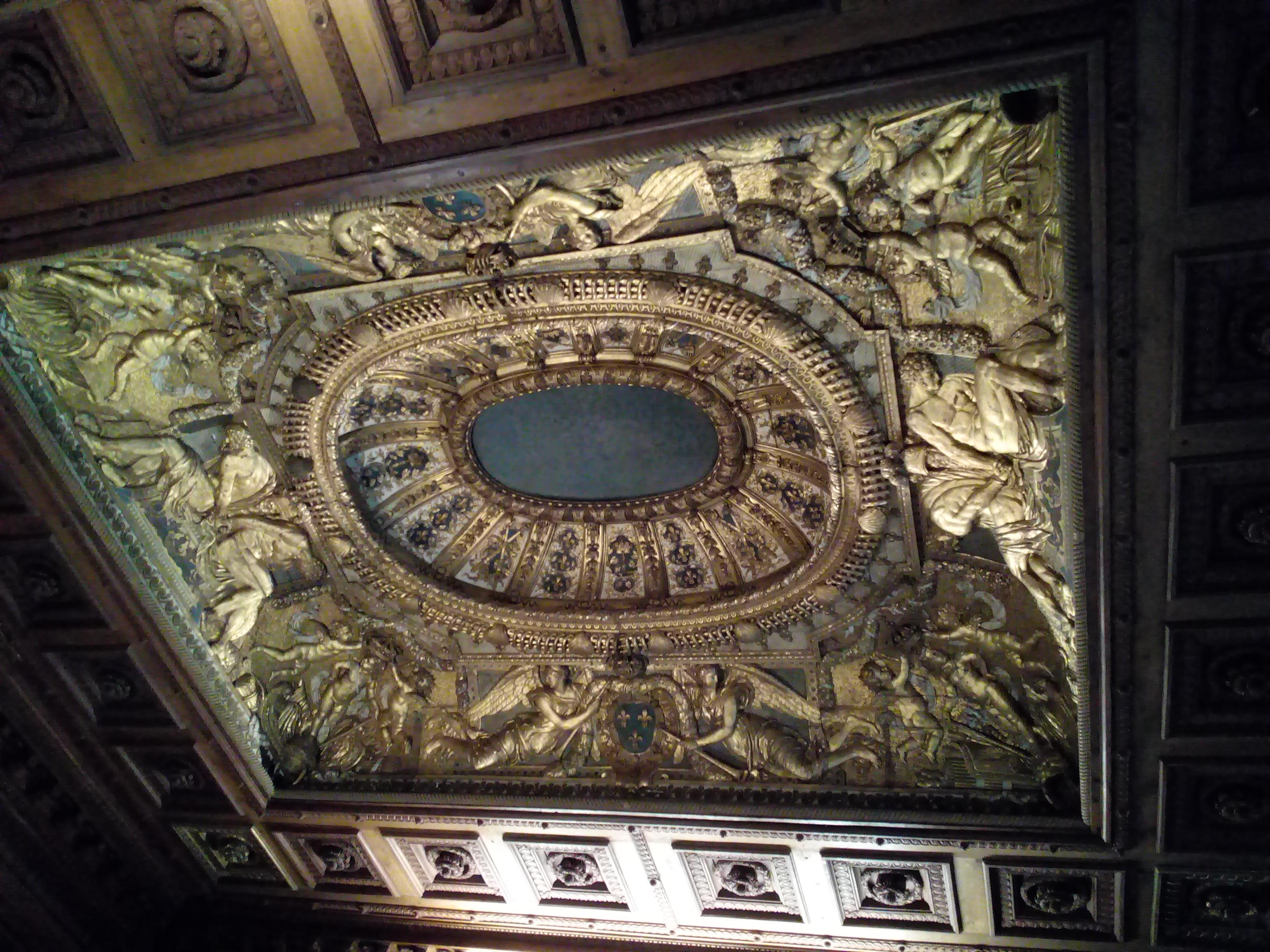 Chambre à alcôve Louvre