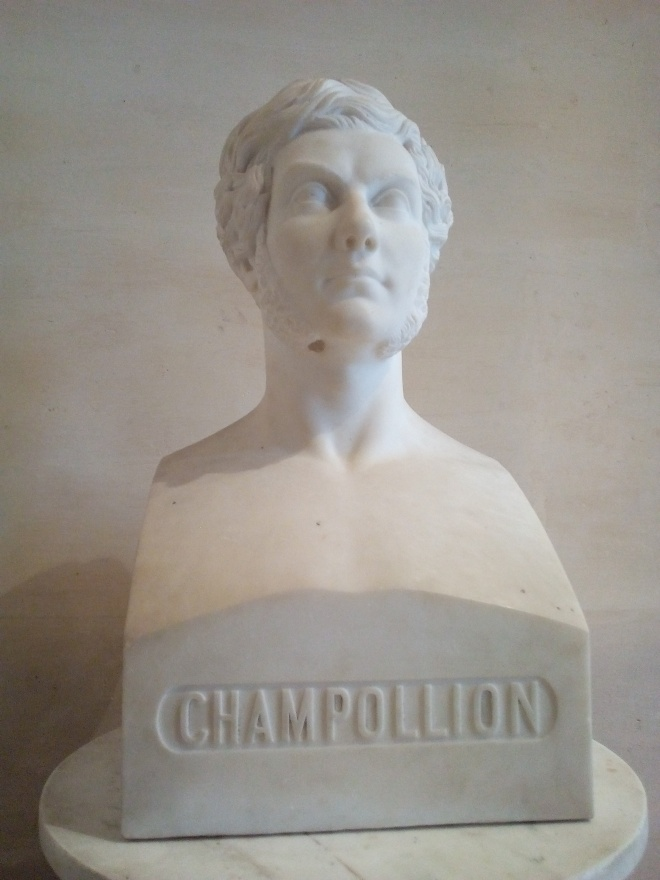 Champollion Louvre salles Charles X