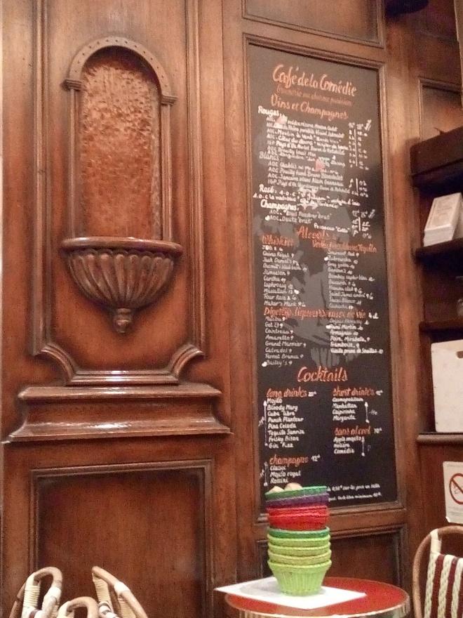 Café de la Comédie Paris
