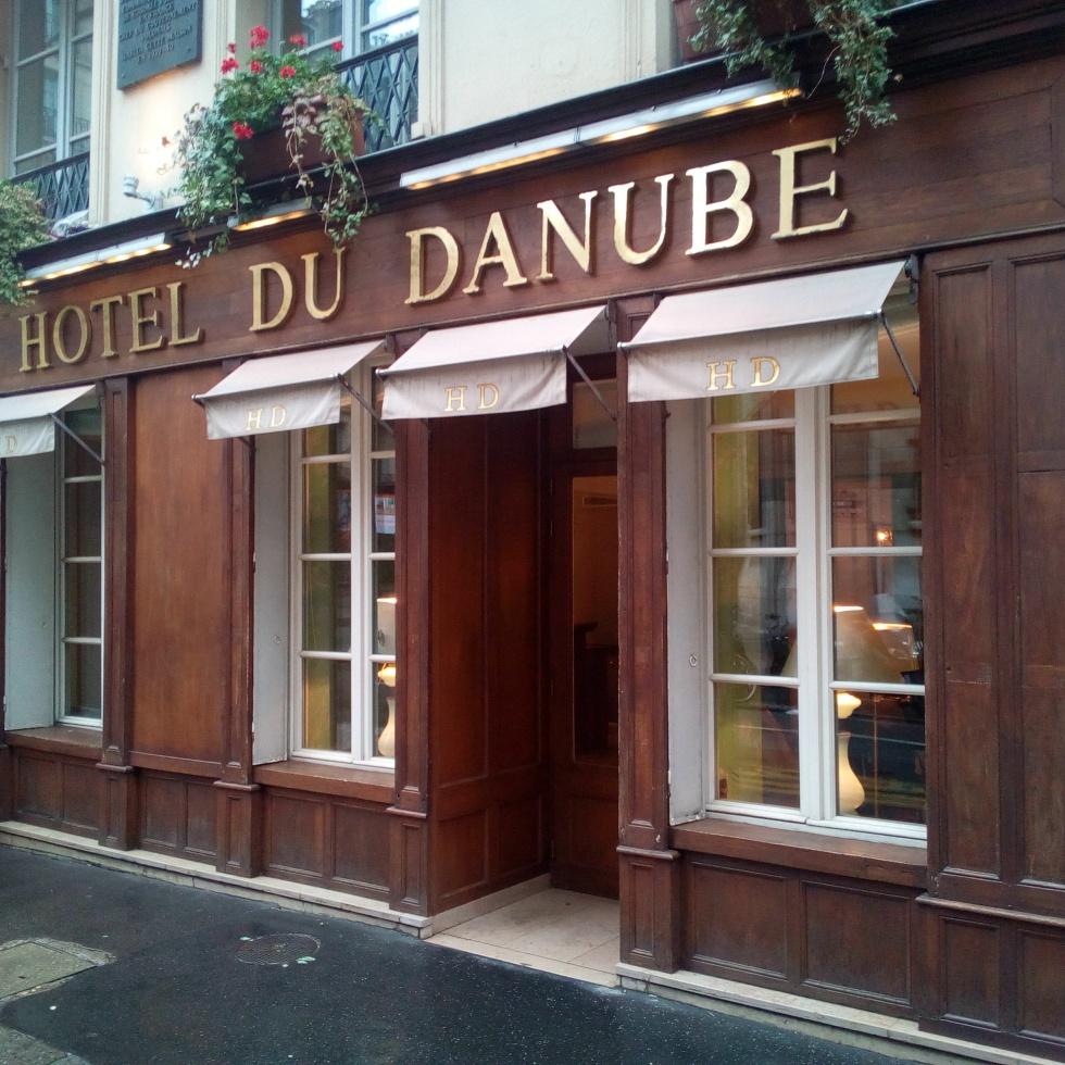 Hôtel du Danube, Paris