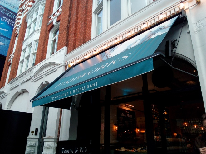 Fishworks Covent Garden, London