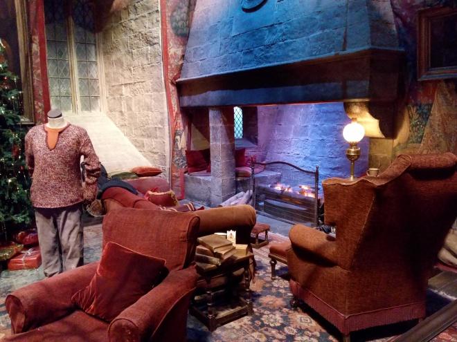 La Salle commune - The Making of Harry Potter - Studio Tour London