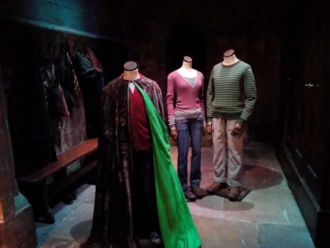 La Cape d'invisibilité - The Making of Harry Potter - Studio Tour London